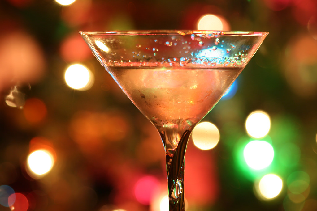 A martini.