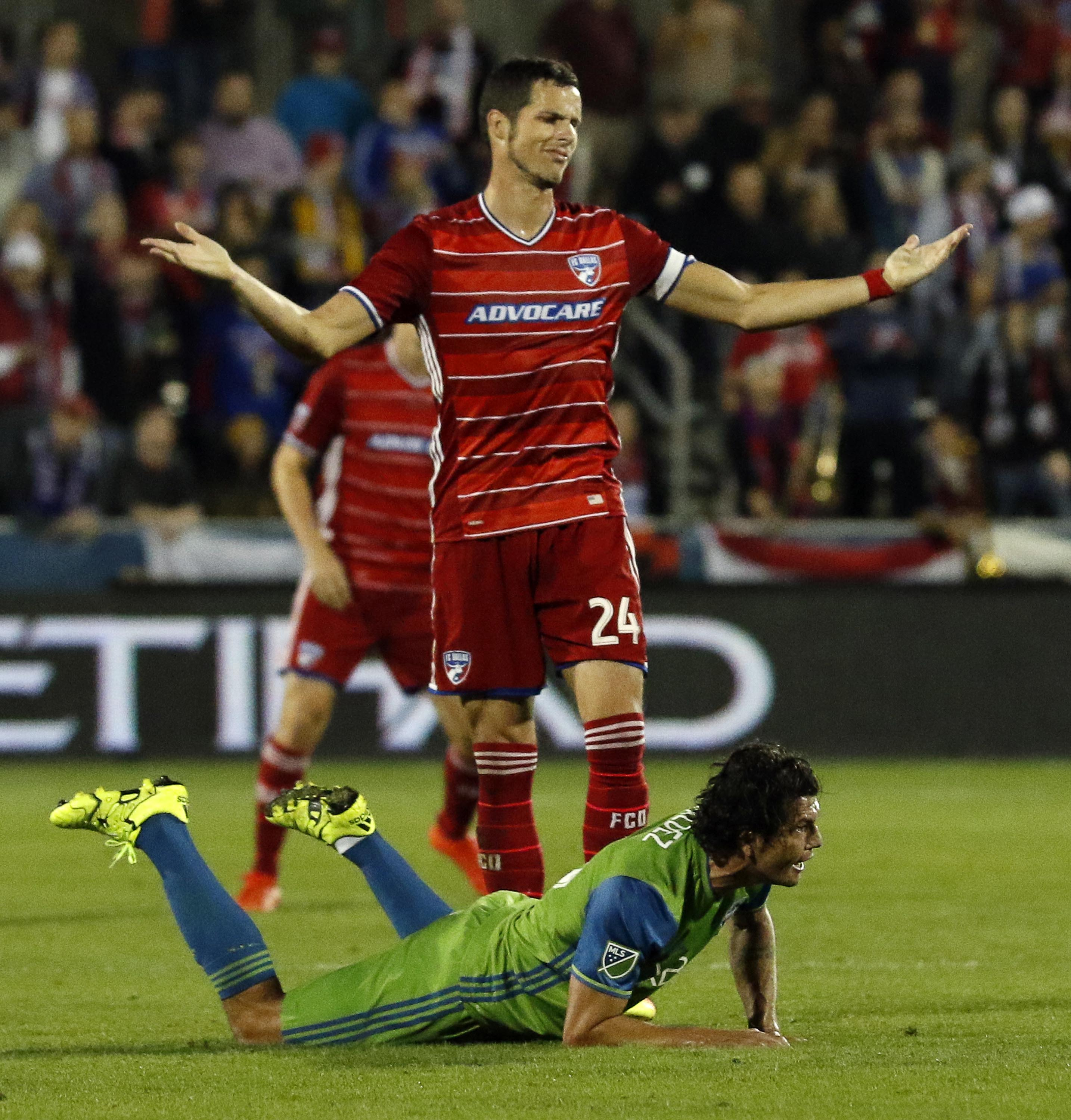 MLS: Playoffs-Seattle Sounders FC at FC Dallas
