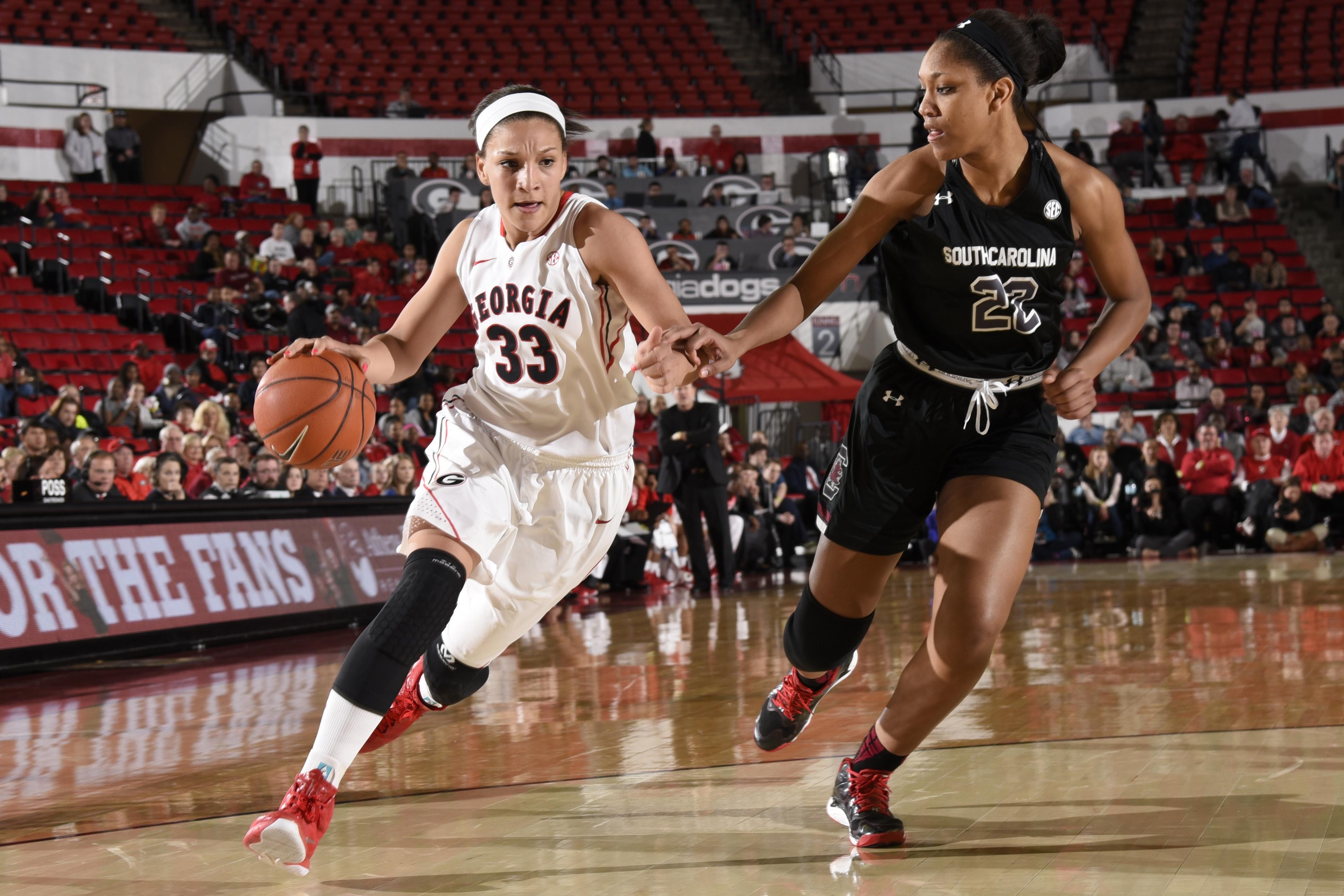 NCAA Womens Basketball: South Carolina at Georgia