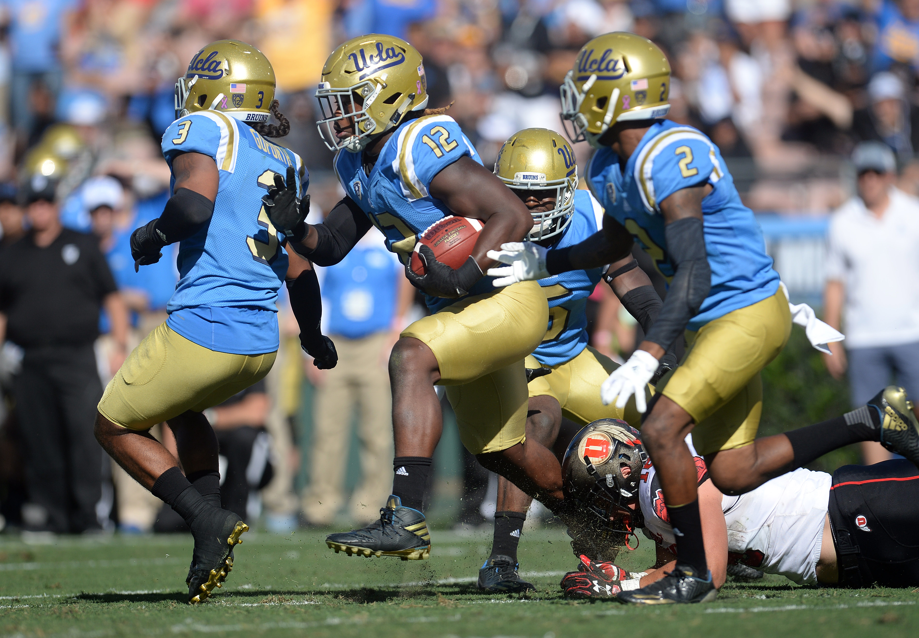 UCLA needs the defense to keep taking the ball away from opponents.