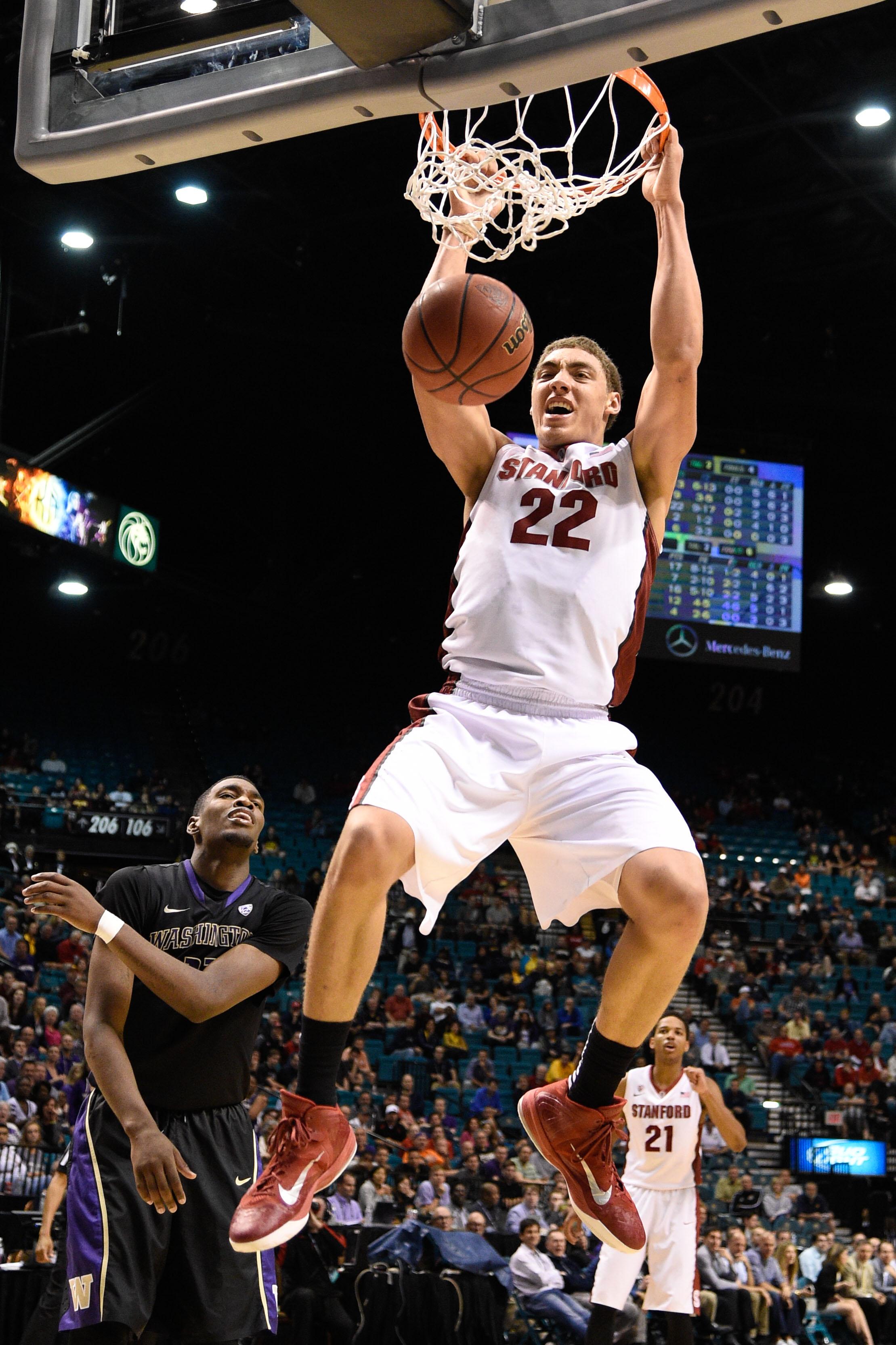 NCAA Basketball: Pac-12 Conference Tournament-Stanford vs Washington