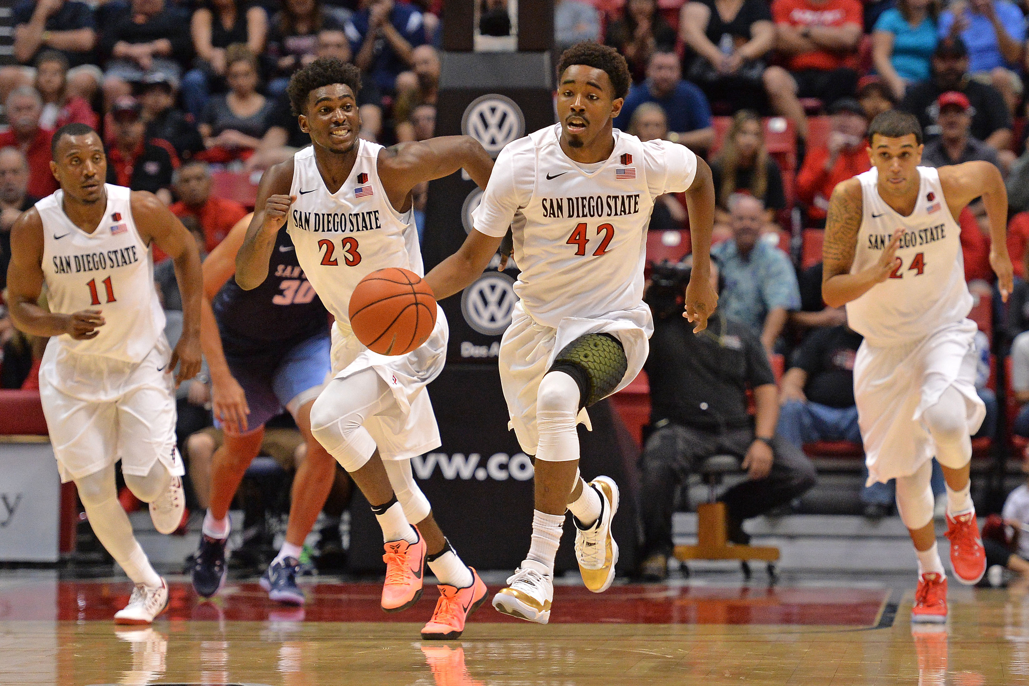 NCAA Basketball: San Diego at San Diego State