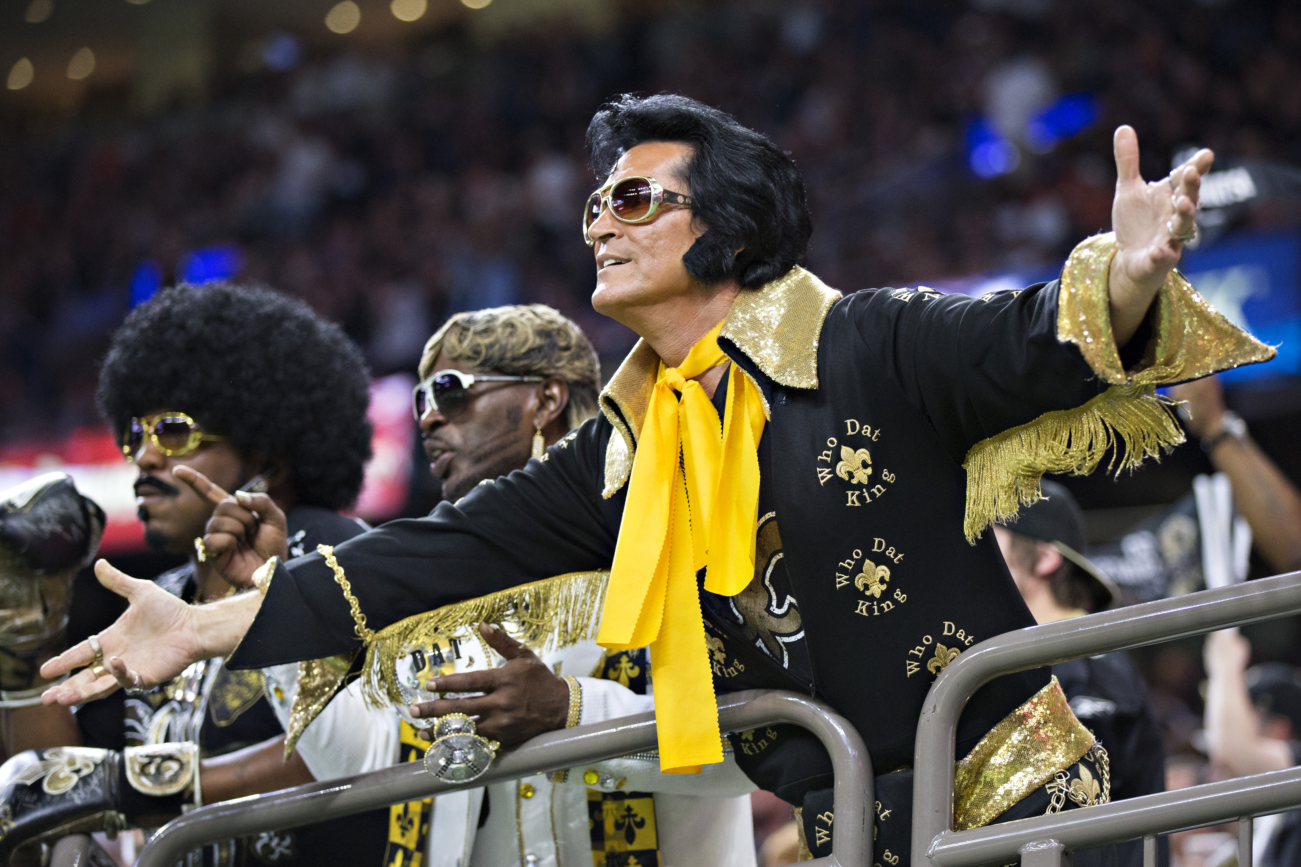I told you Elvis wasn't dead.