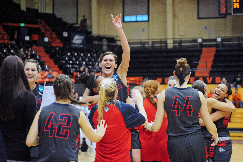 NCAA Womens Basketball: NCAA Tournament-First Round-Gonzaga vs George Washington