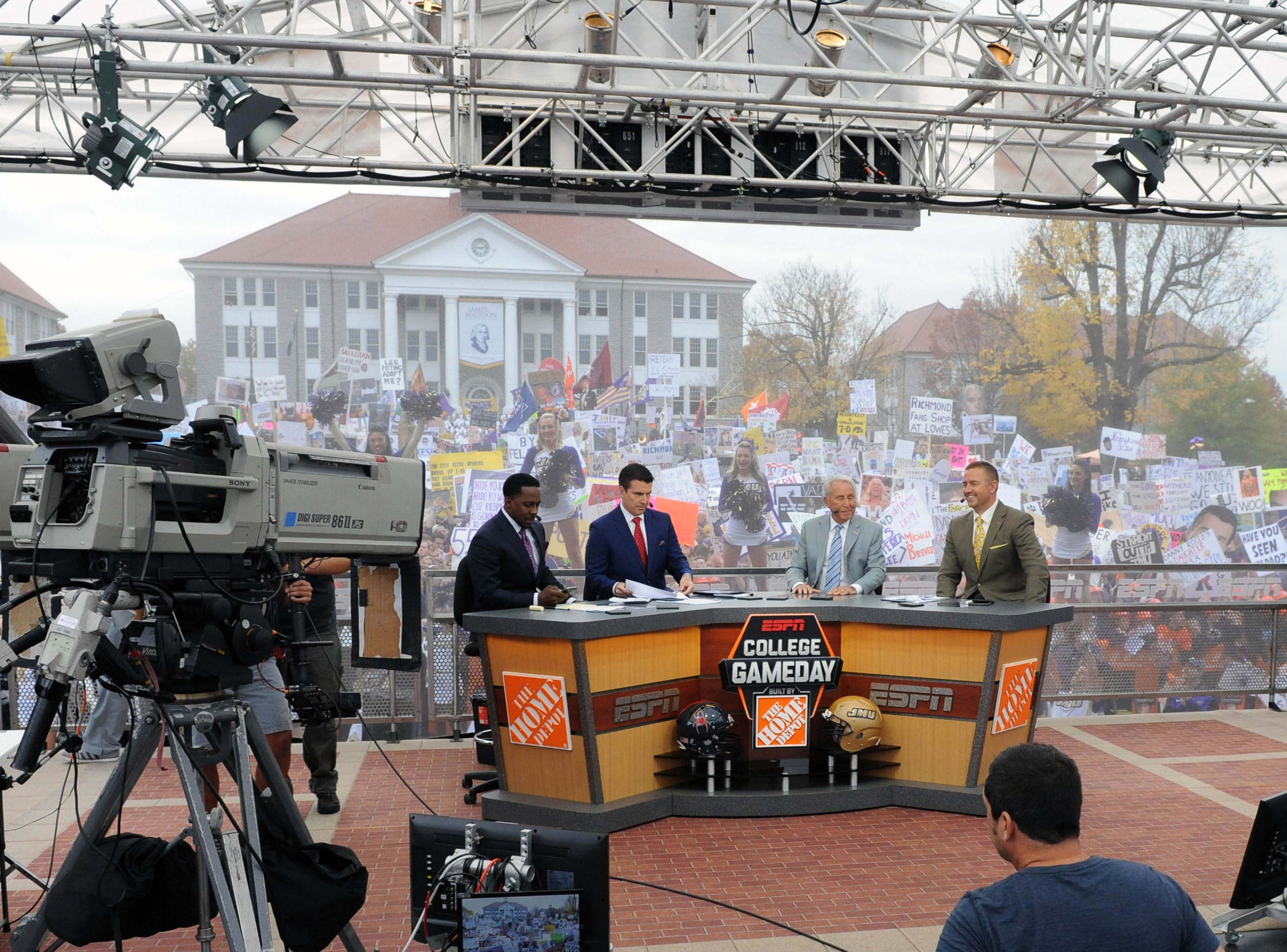 NCAA Football: College Game Day-Richmond at James Madison
