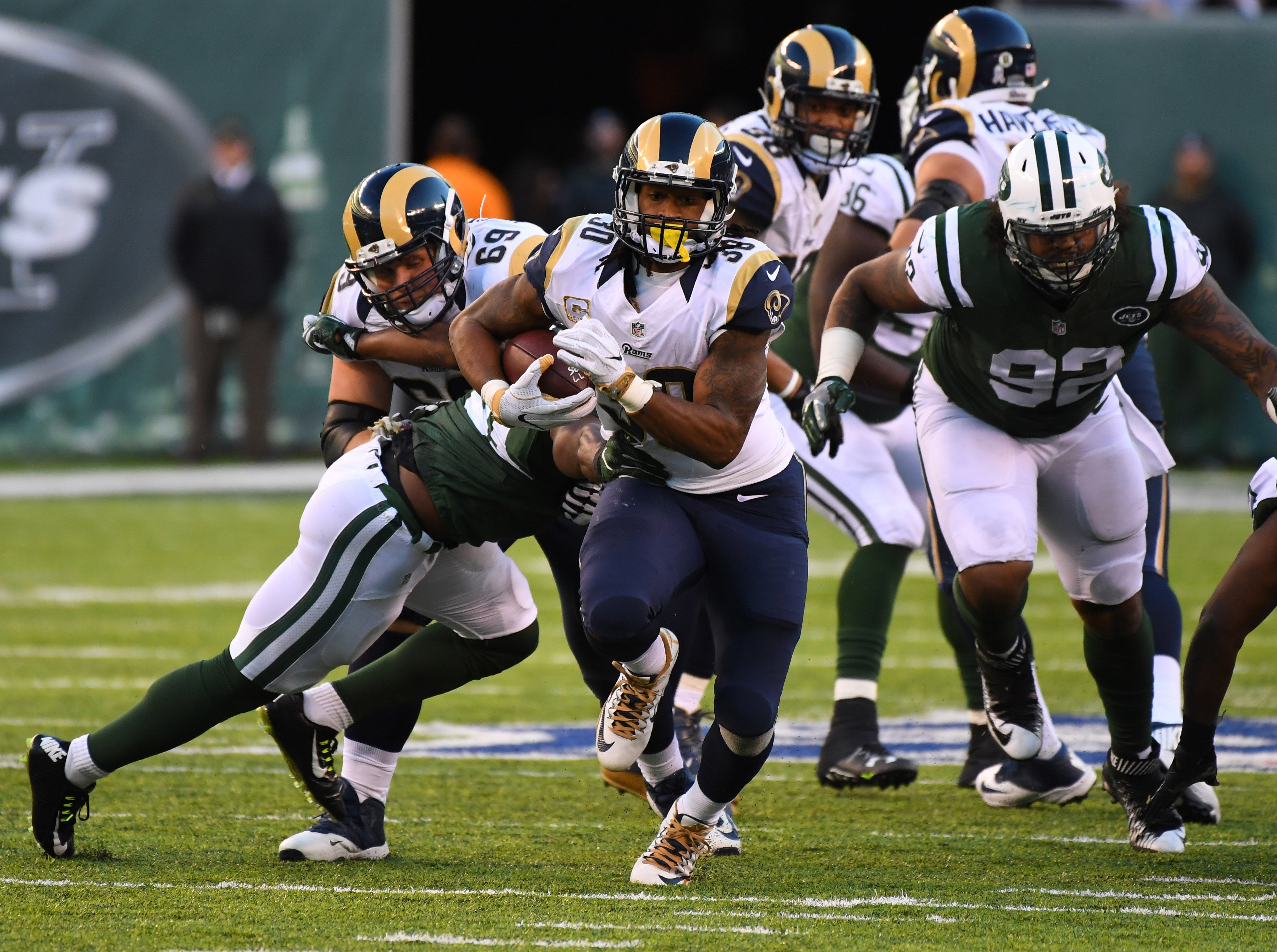 Los Angeles Rams At New York Jets