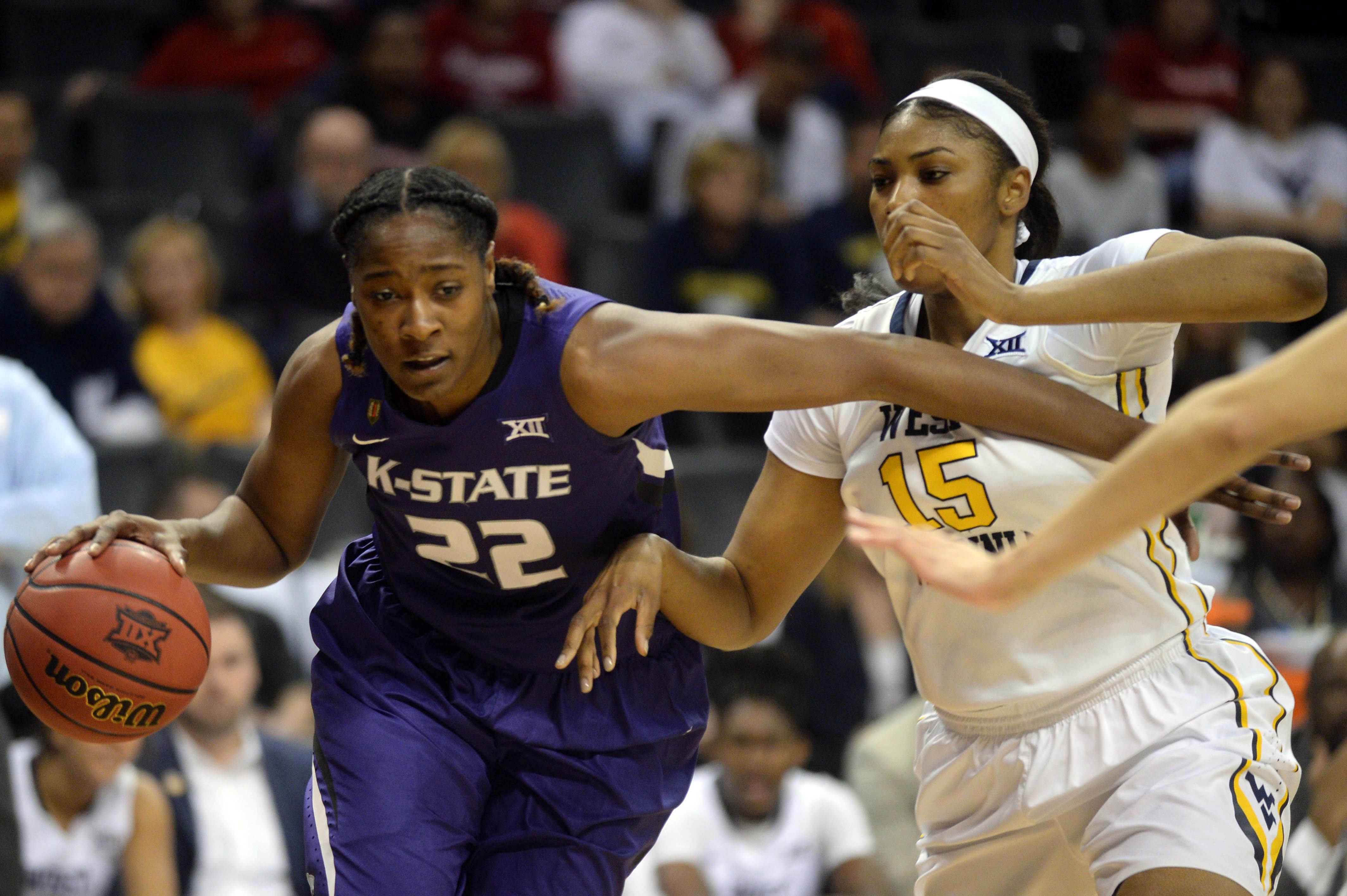 NCAA Womens Basketball: Big 12 Conference Tournament-West Virginia vs Kansas State