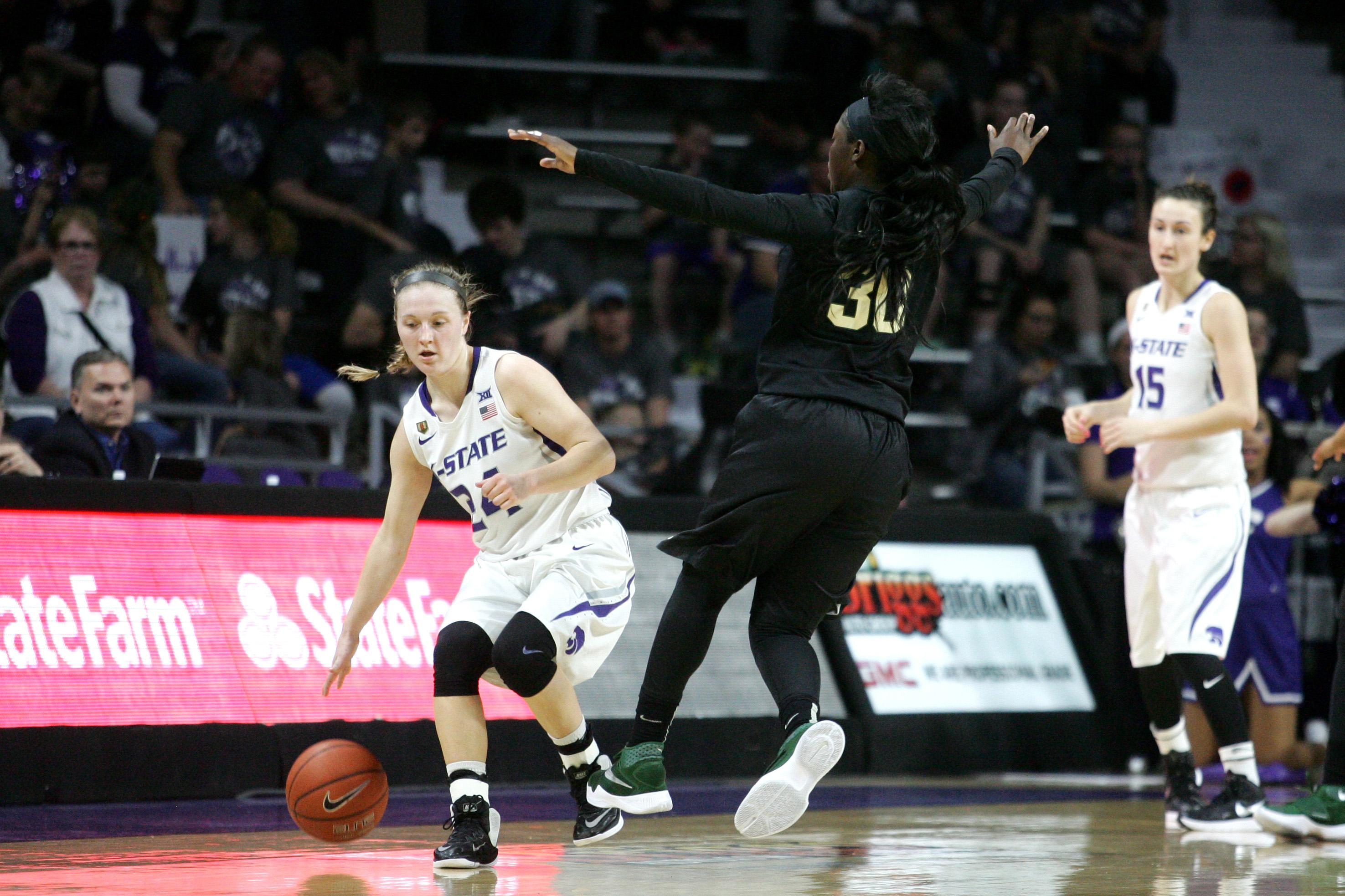 NCAA Womens Basketball: Baylor at Kansas State