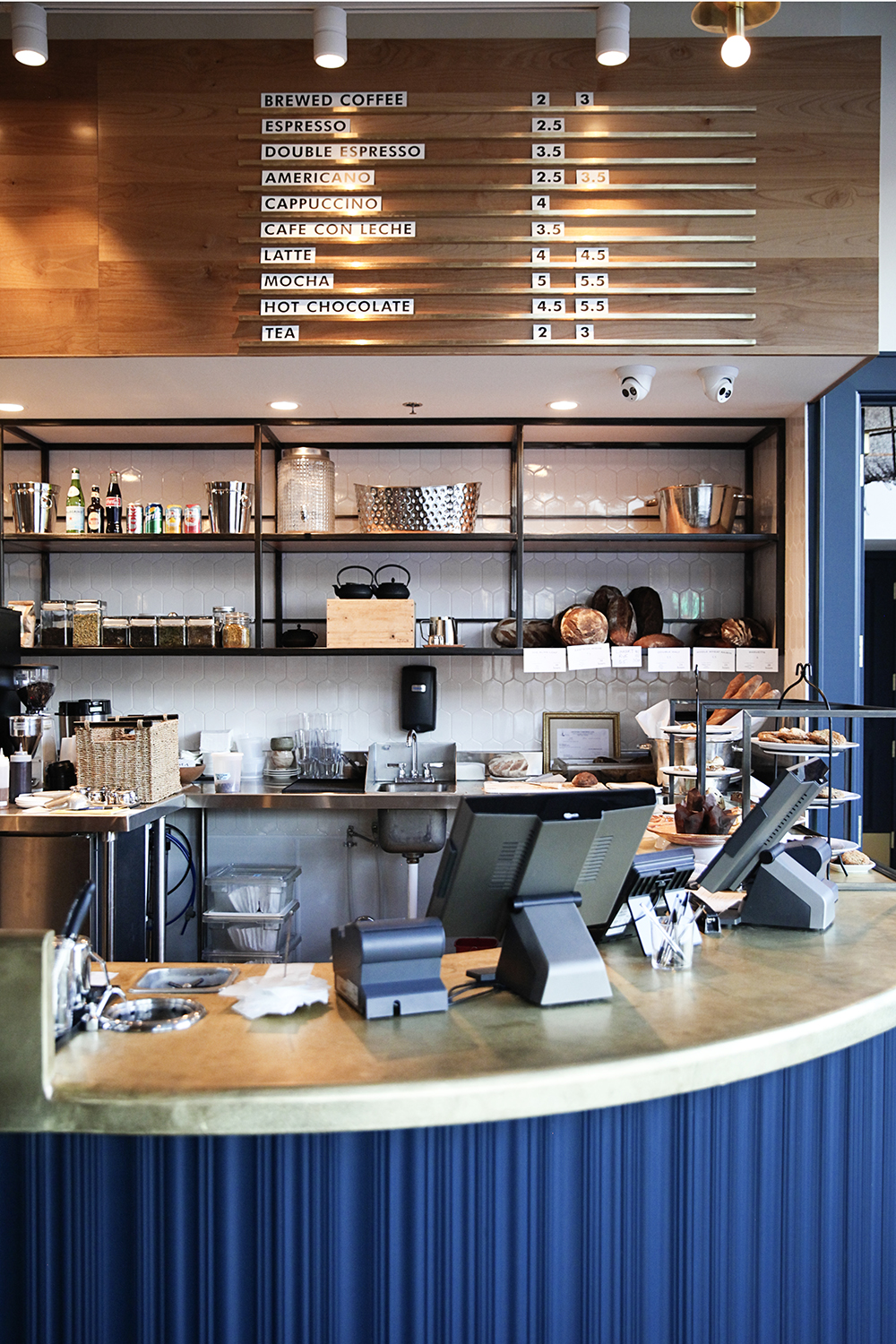 A tour of the new cafe and hotel at Restaurant Alma.