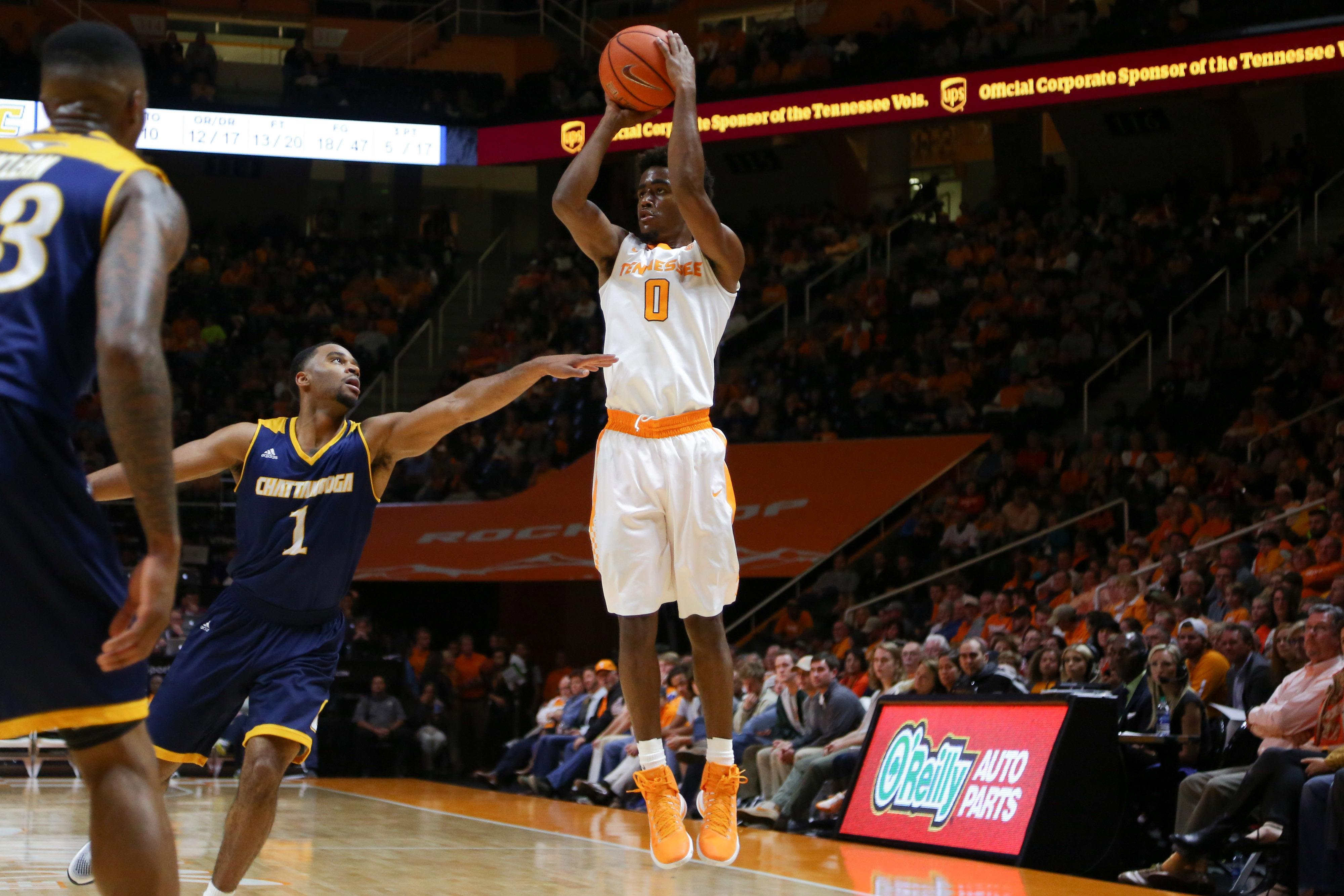 NCAA Basketball: Chattanooga at Tennessee