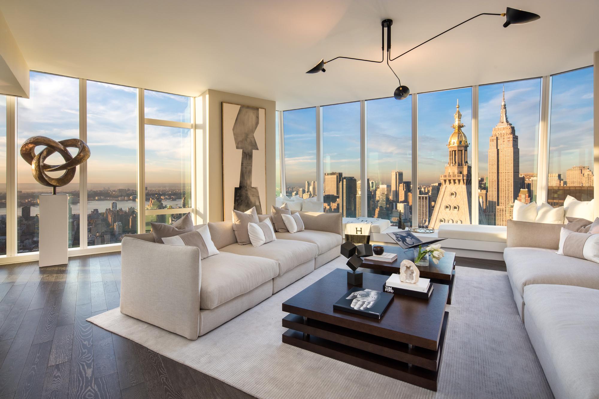 flatiron\u0027s tallest tower reveals its stunning 55th floor model