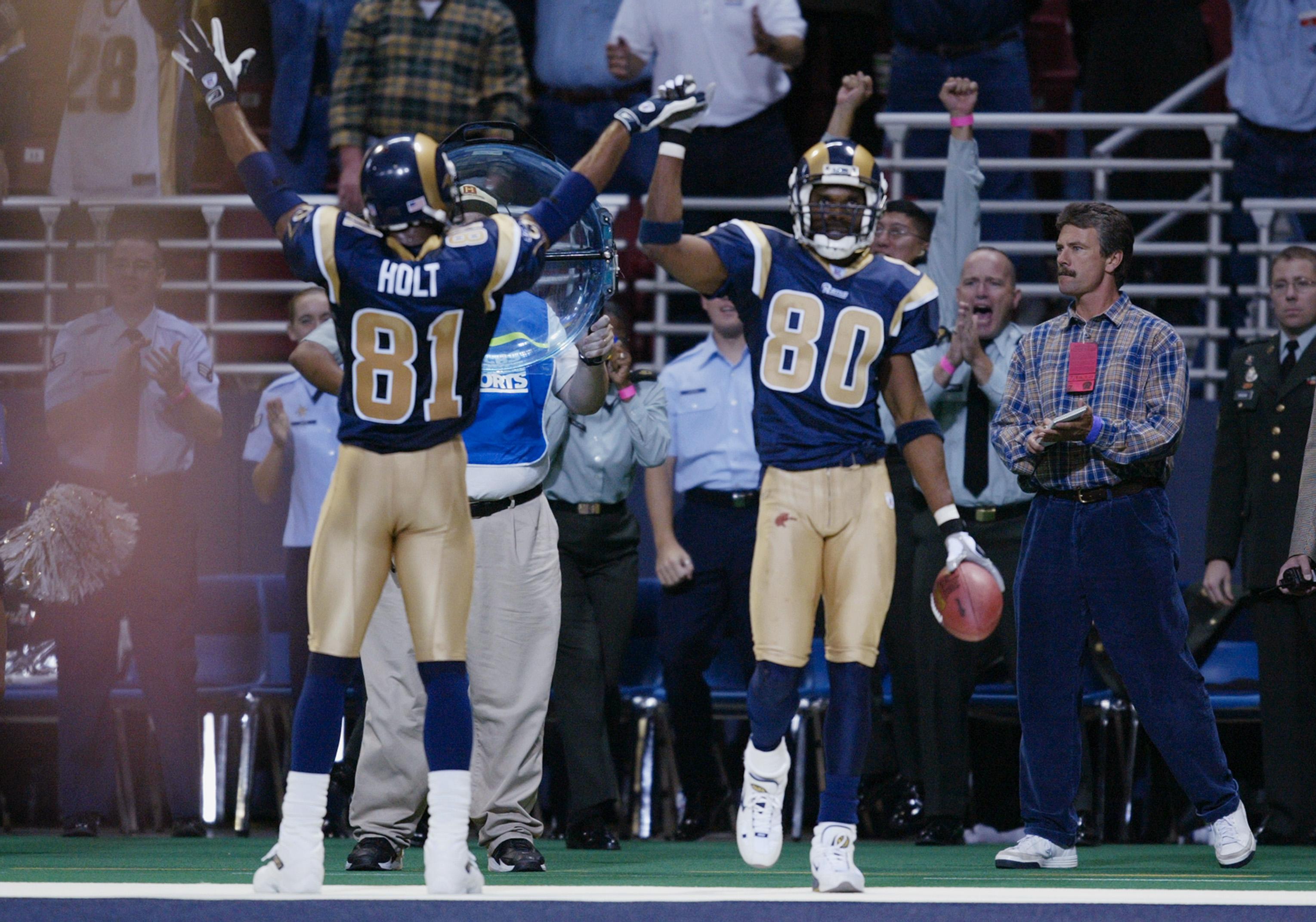 Former Rams WRs Isaac Bruce & Torry Holt