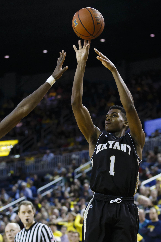 NCAA Basketball: Bryant at Michigan
