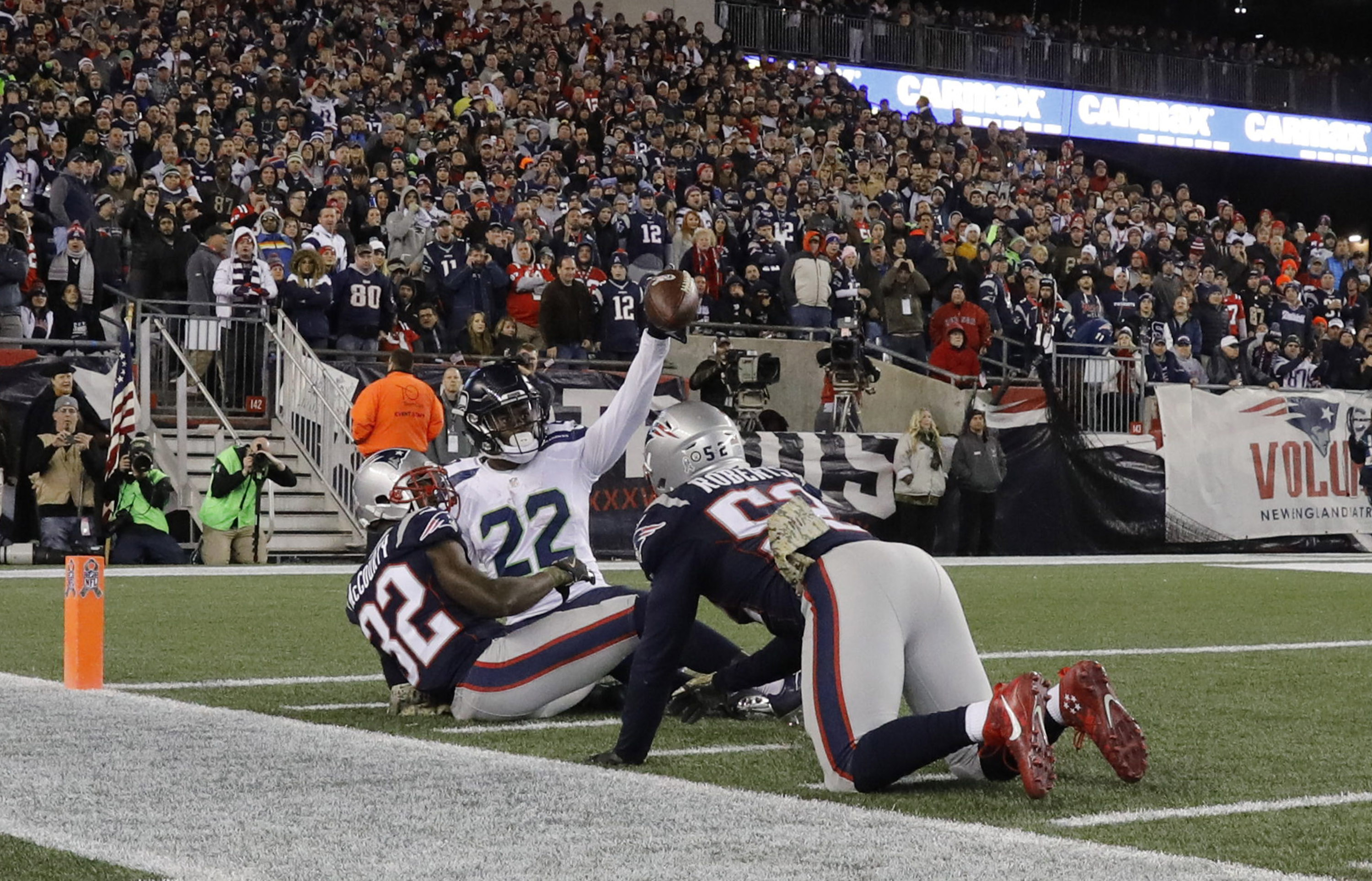 NFL: Seattle Seahawks at New England Patriots