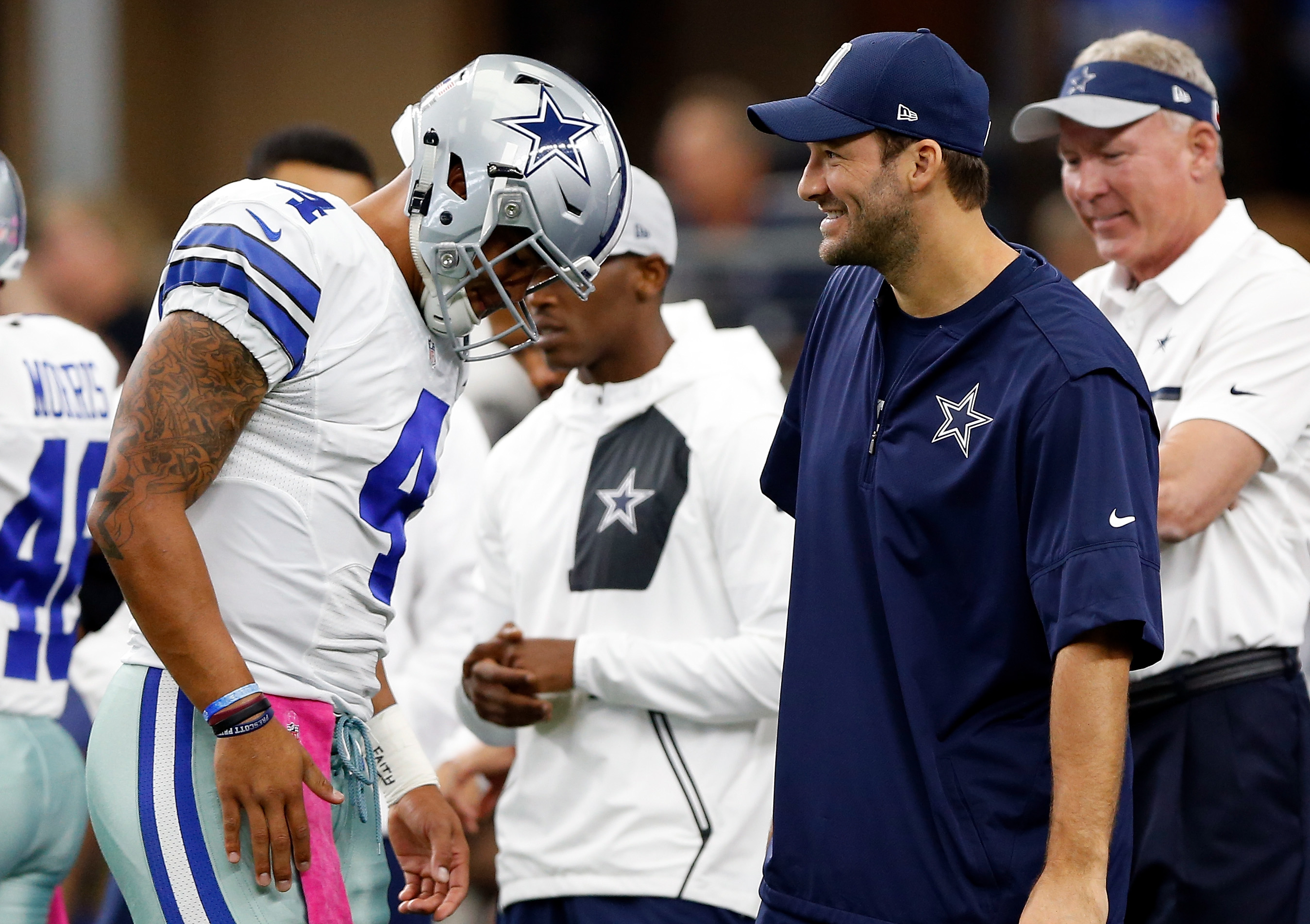 Tony Romo knew Dak Prescott was the Cowboys QB even before they beat the Steelers