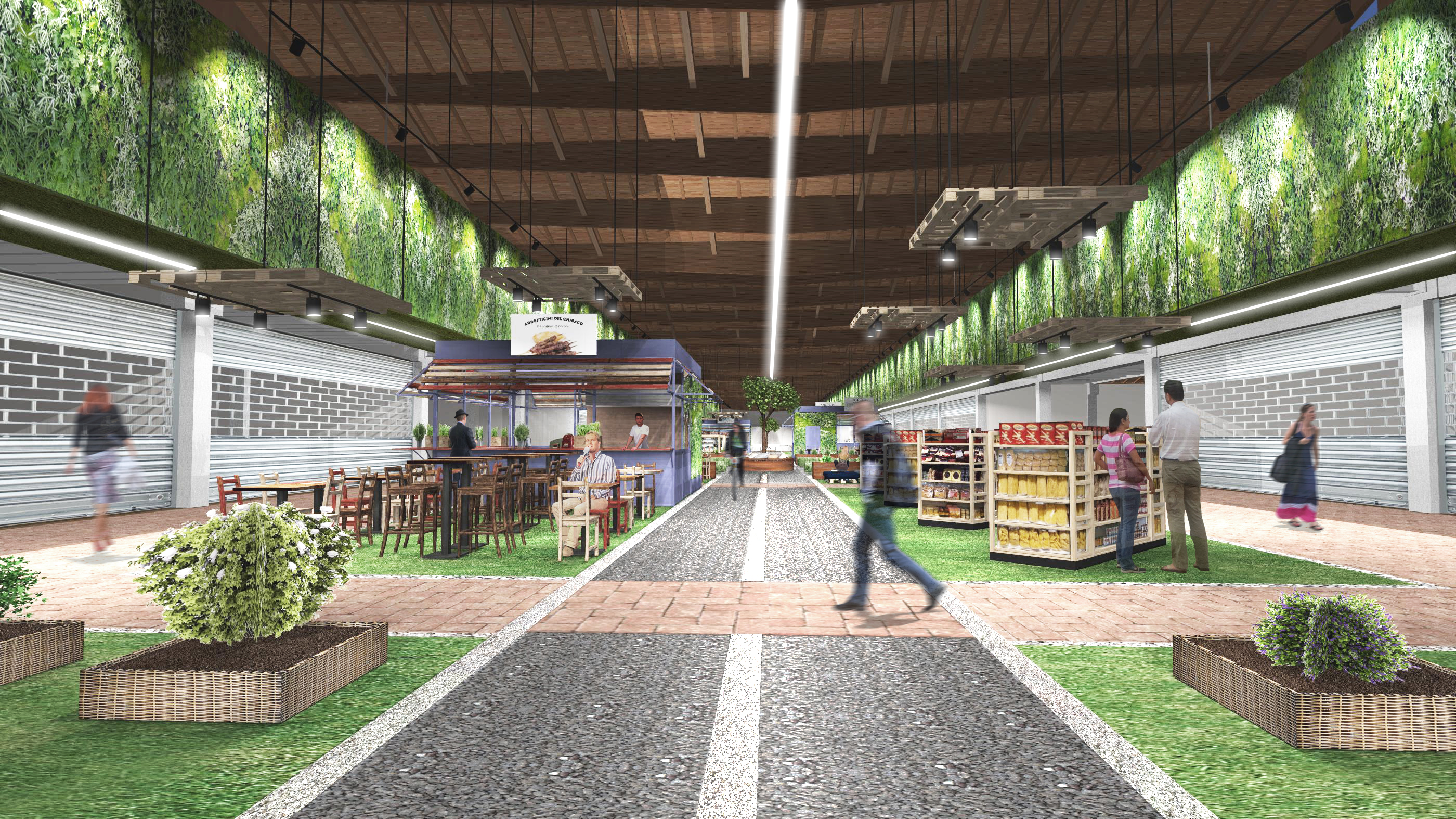 A rendering of FICO Eataly World.