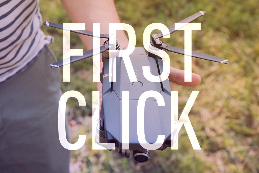 first click dji