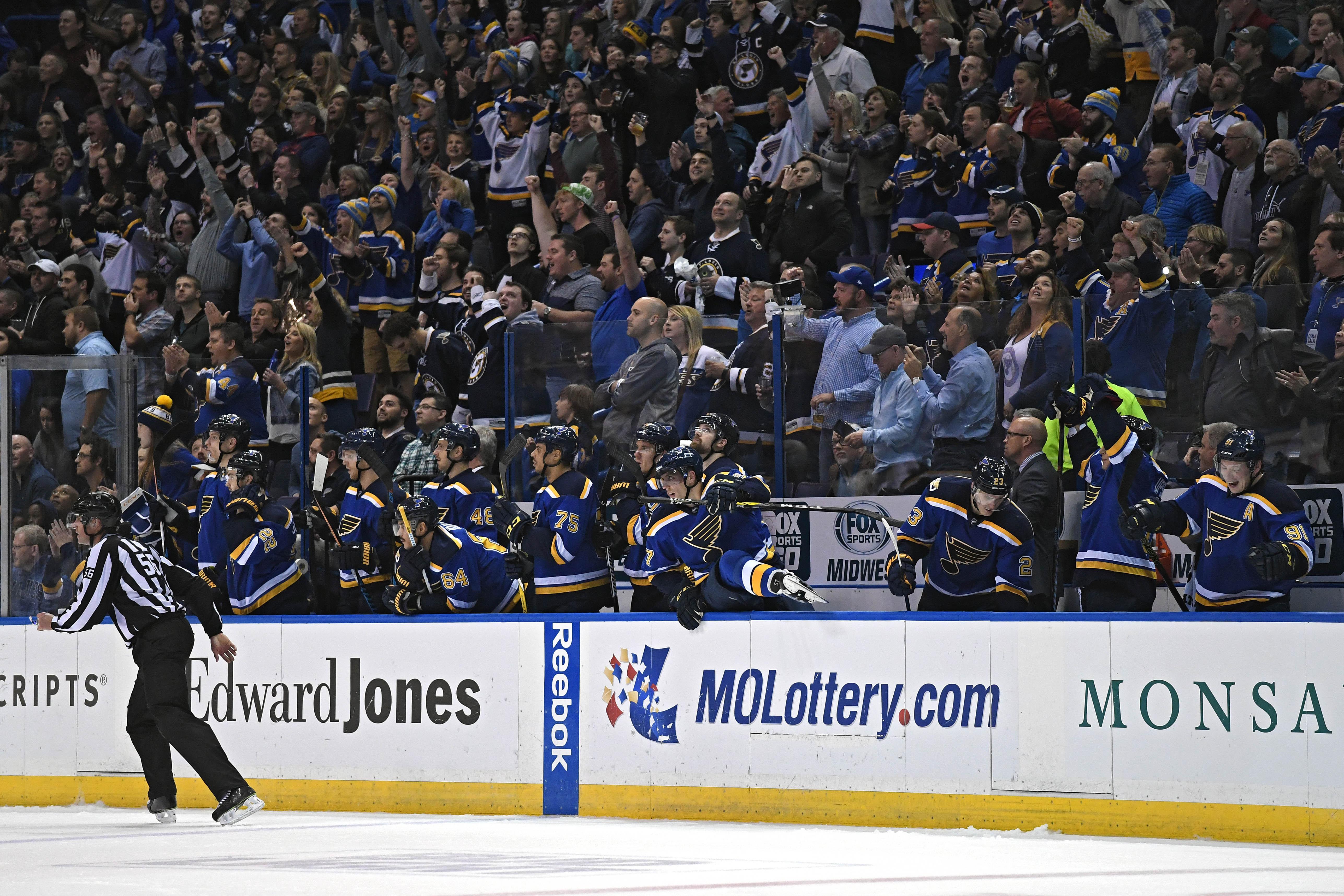 NHL: San Jose Sharks at St. Louis Blues