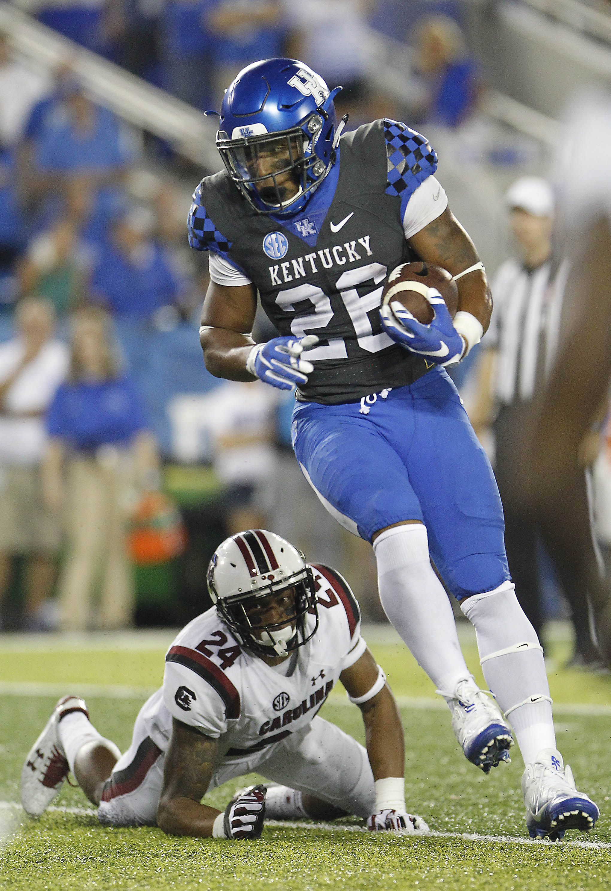 NCAA Football: South Carolina at Kentucky