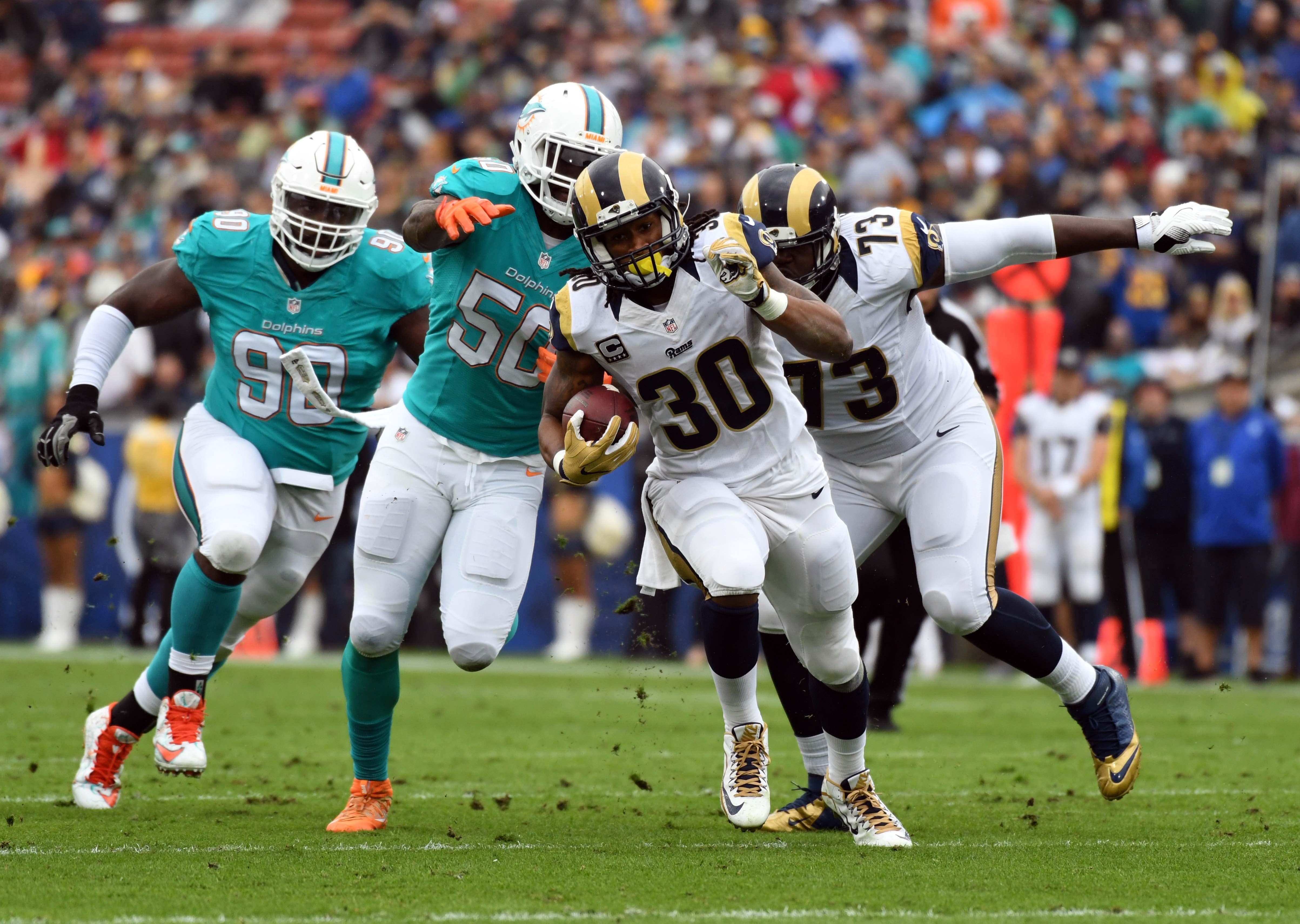 Los Angeles Rams Vs. Miami Dolphins