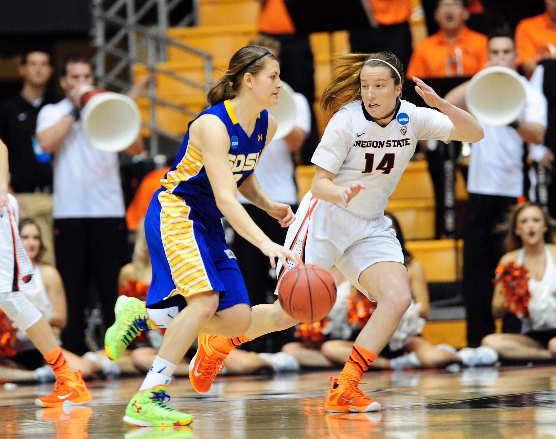 NCAA Womens Basketball: NCAA Tournament-First Round-Oregon State vs South Dakota State
