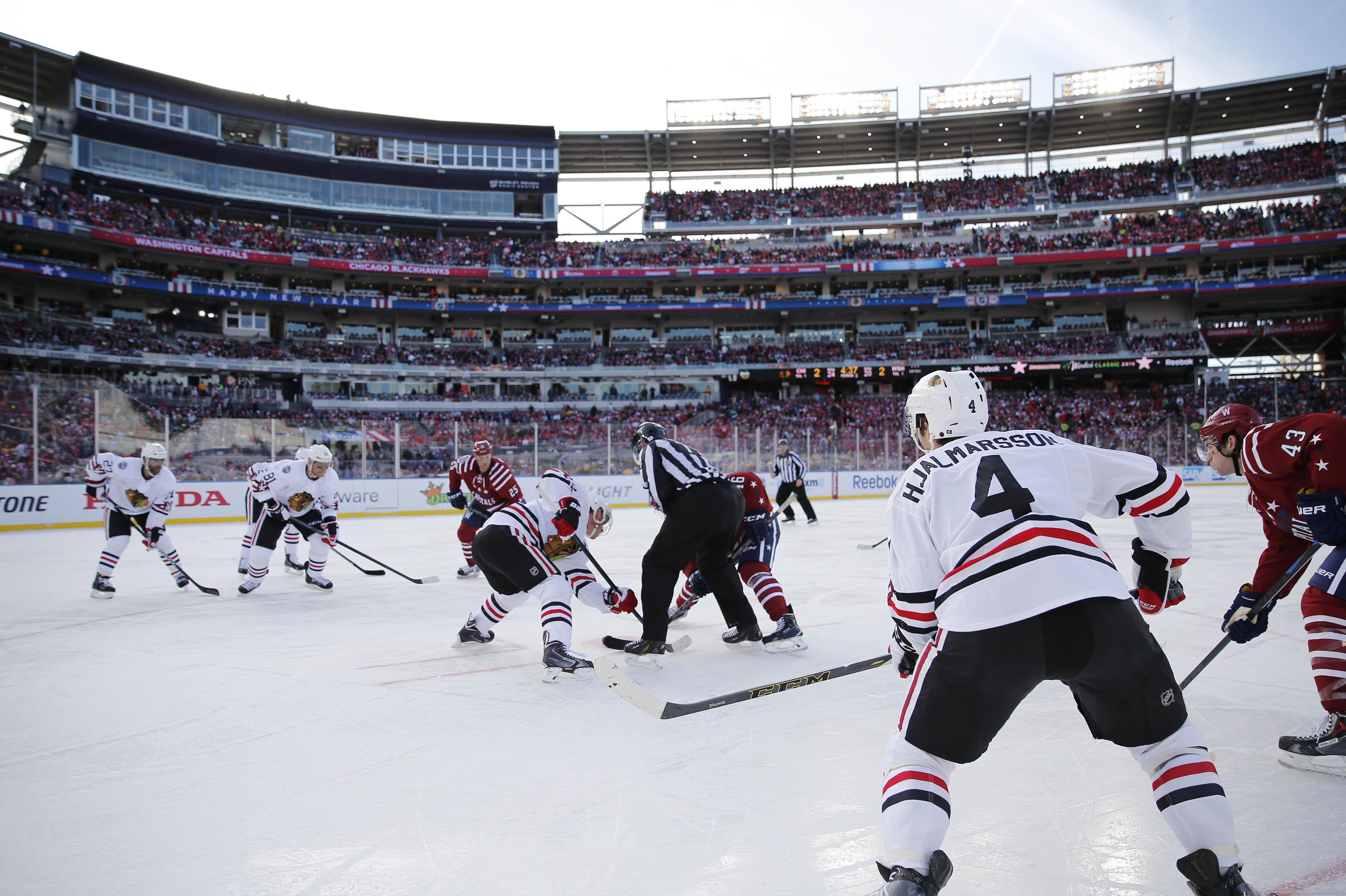 NHL: Winter Classic-Chicago Blackhawks at Washington Capitals