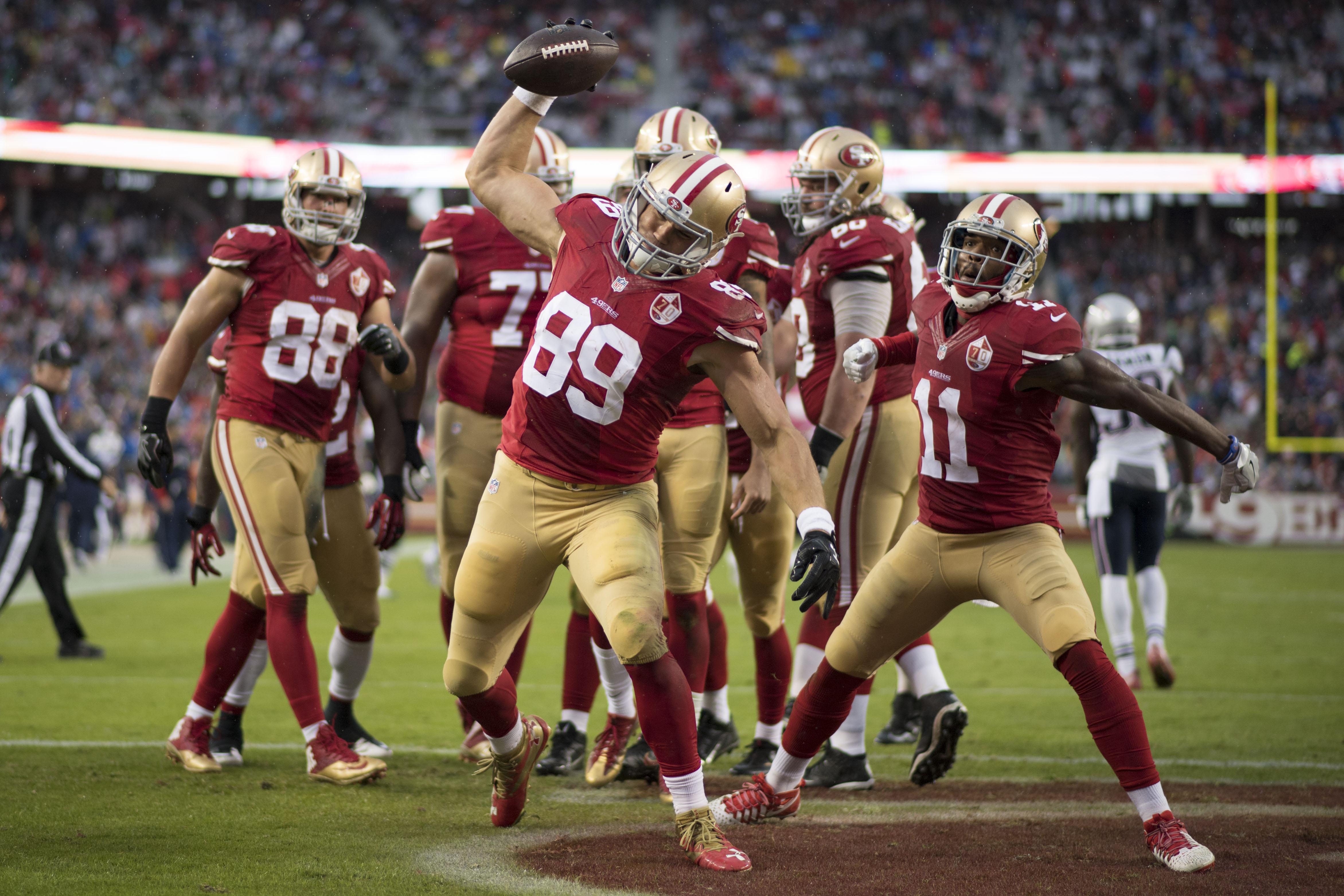 NFL: New England Patriots at San Francisco 49ers
