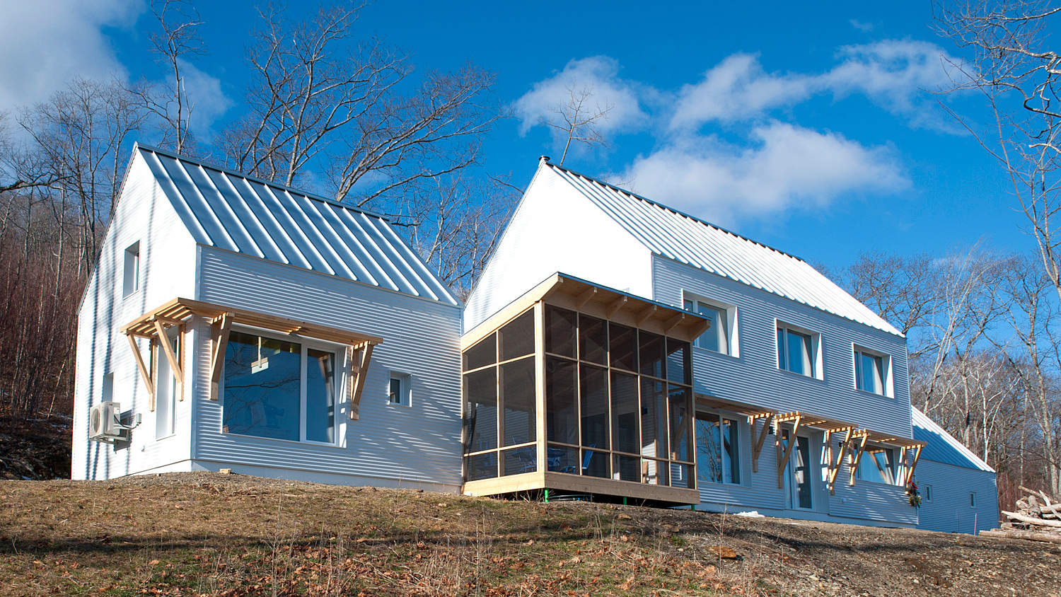 First prefab passive house from Ecocor goes into production