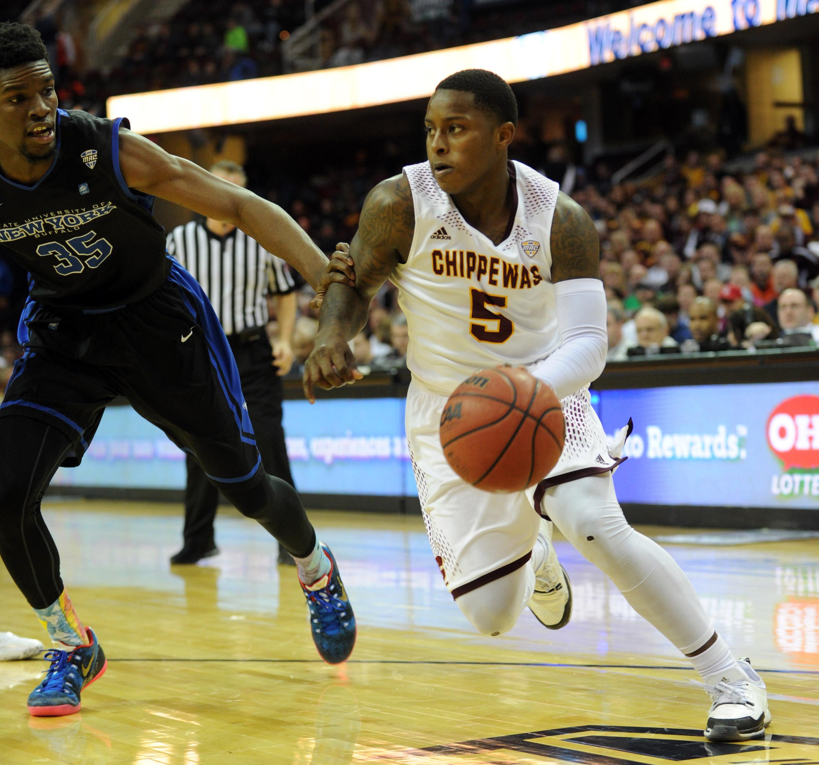 NCAA Basketball: MAC Conference Tournament-Buffalo vs Central Michigan