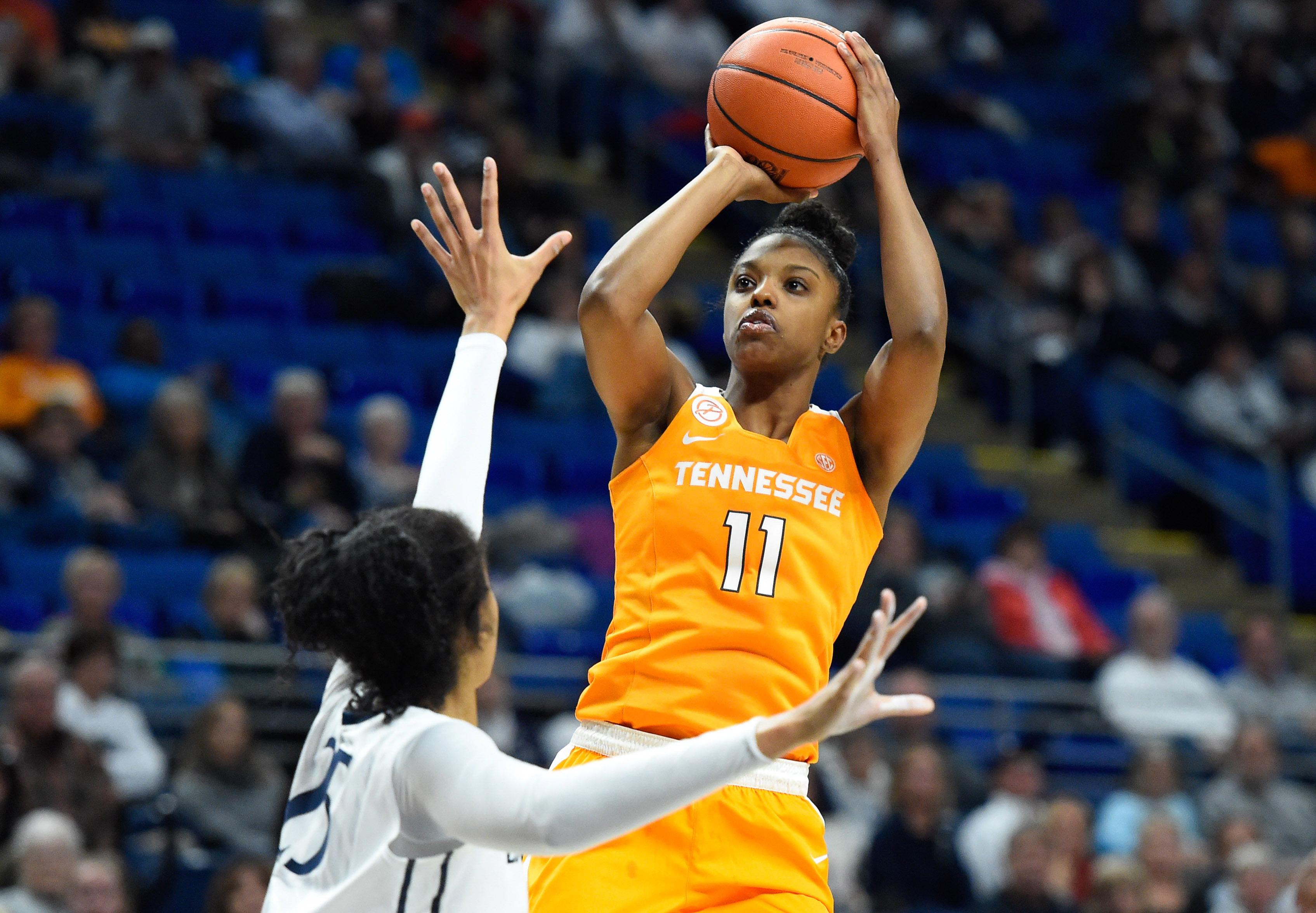 NCAA Womens Basketball: Tennessee at Penn State - Diamond DeShields