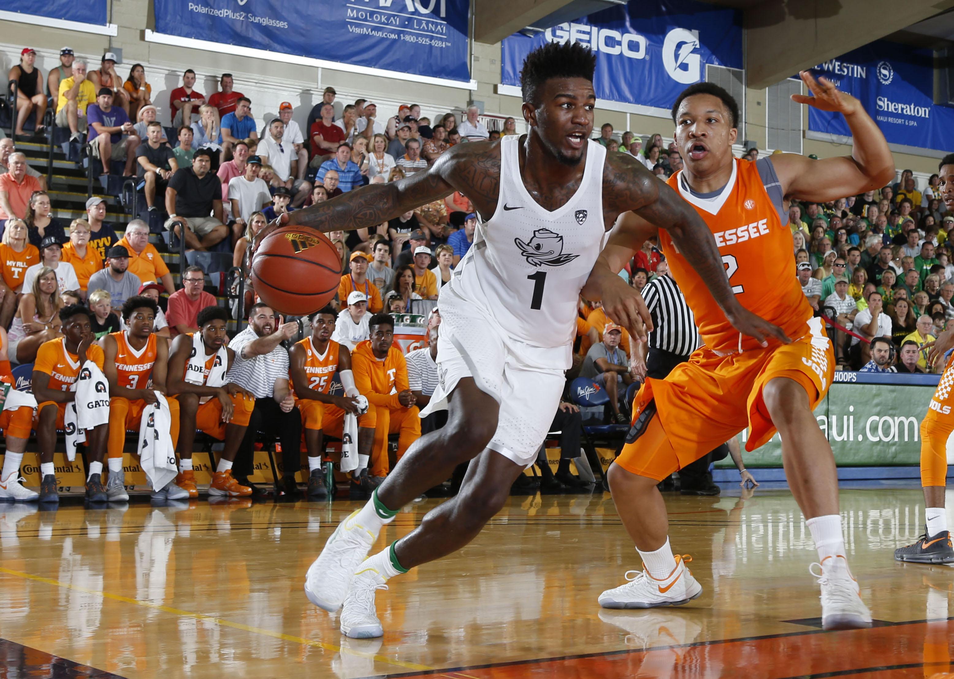 NCAA Basketball: Maui Invitational Day Two- Tennessee vs Oregon