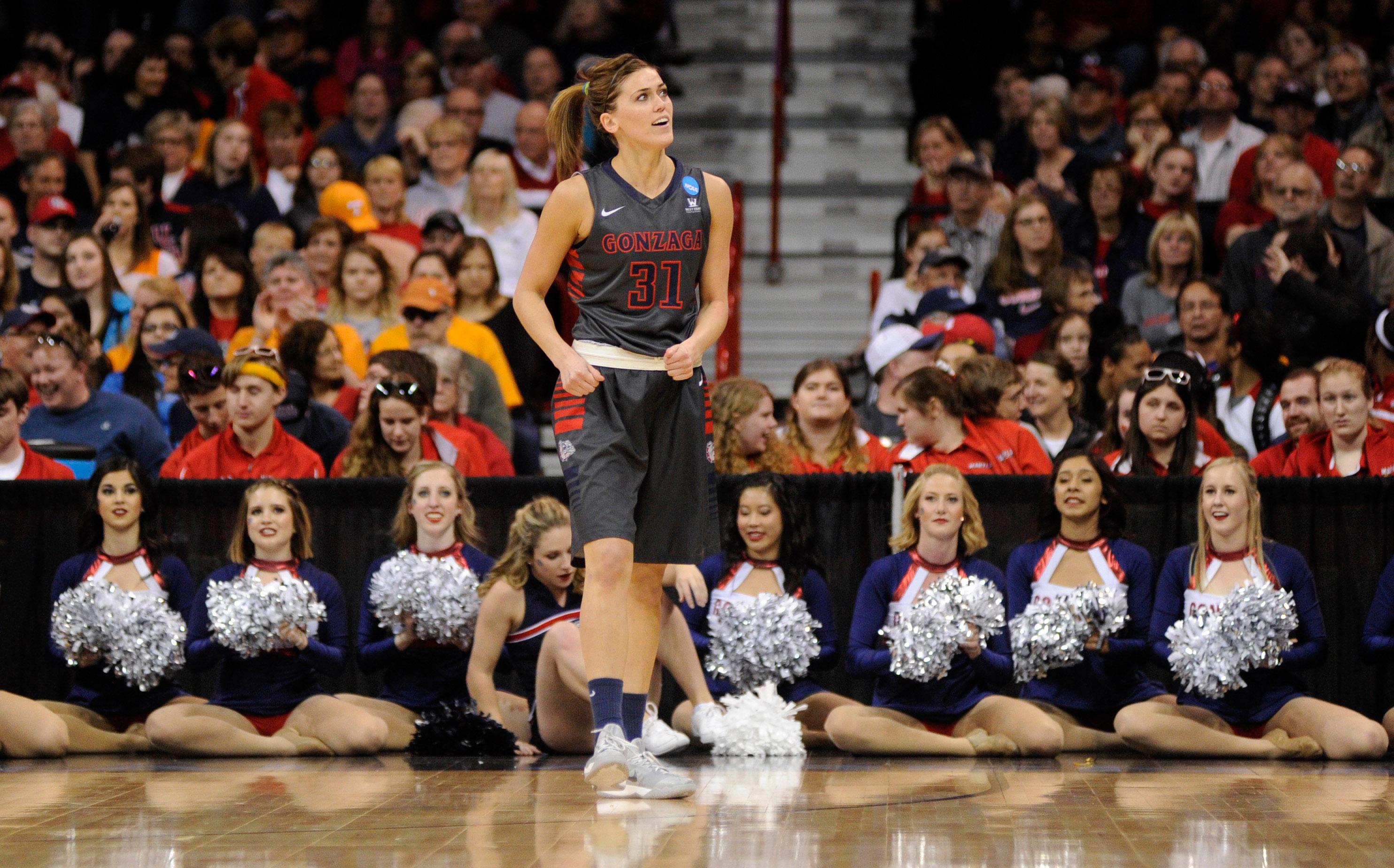 NCAA Womens Basketball: NCAA Tournament-Spokane Regional-Gonzaga vs Tennessee