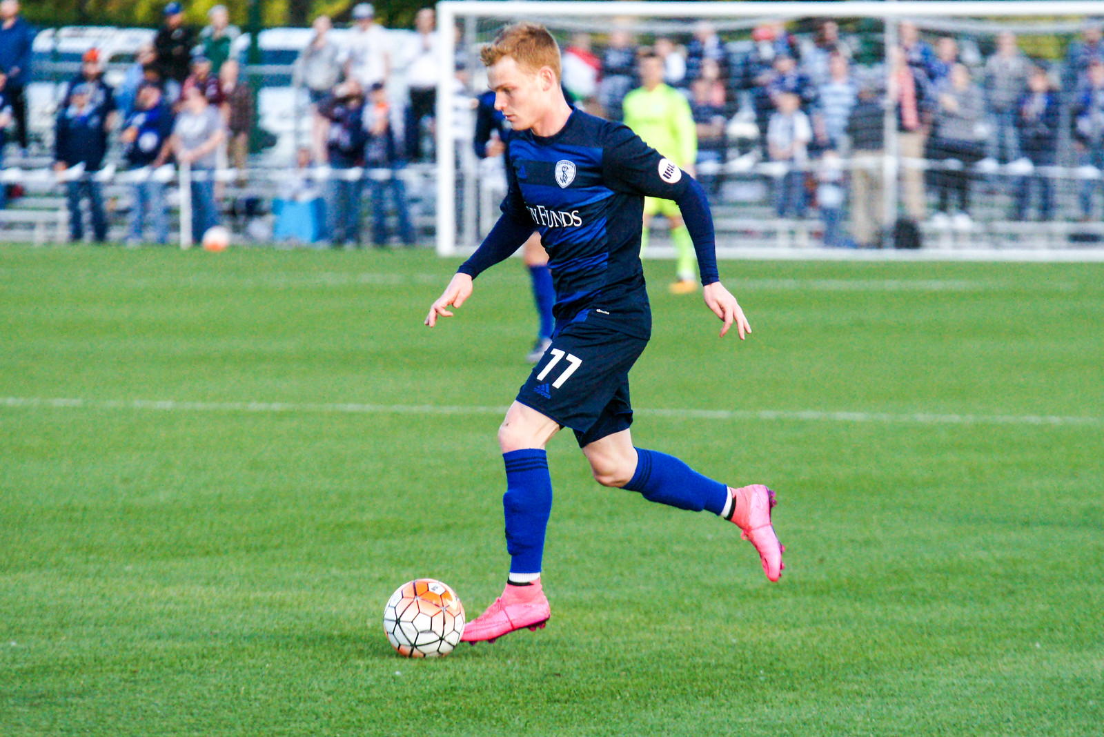 Pasher was one of several bright spots on Swope Park in 2016