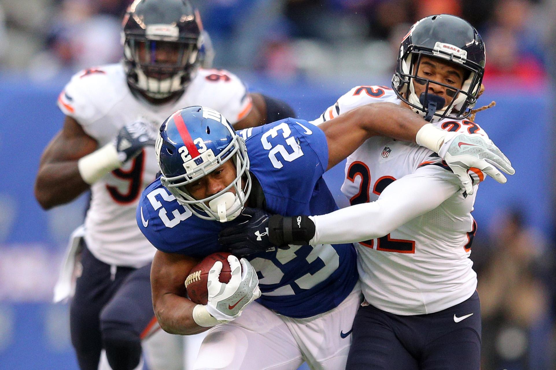 NFL: Chicago Bears at New York Giants