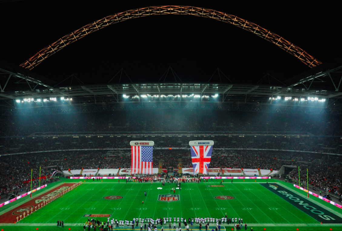 49ers-Broncos at Wembley Stadium in 2010
