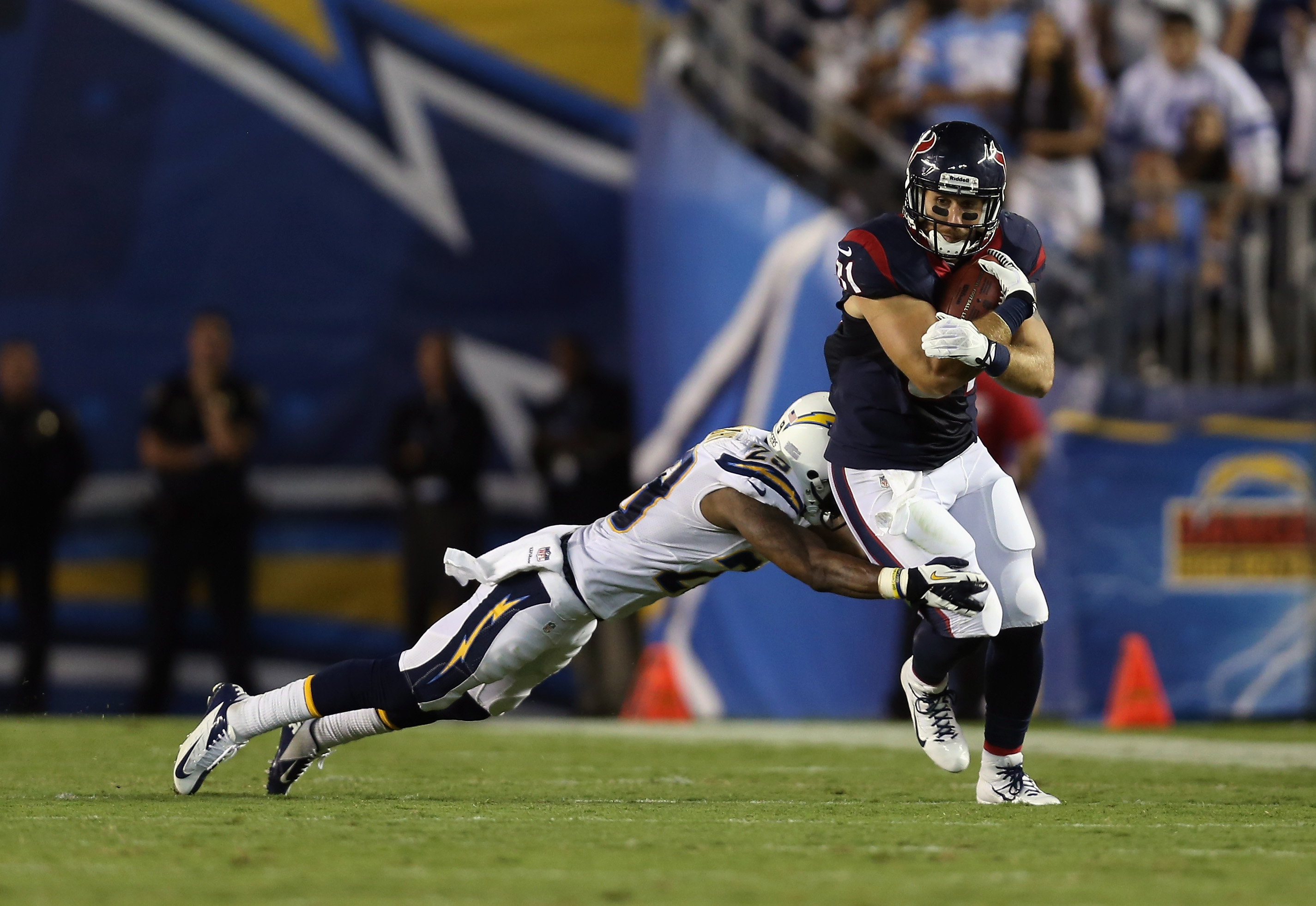 Houston Texans v San Diego Chargers