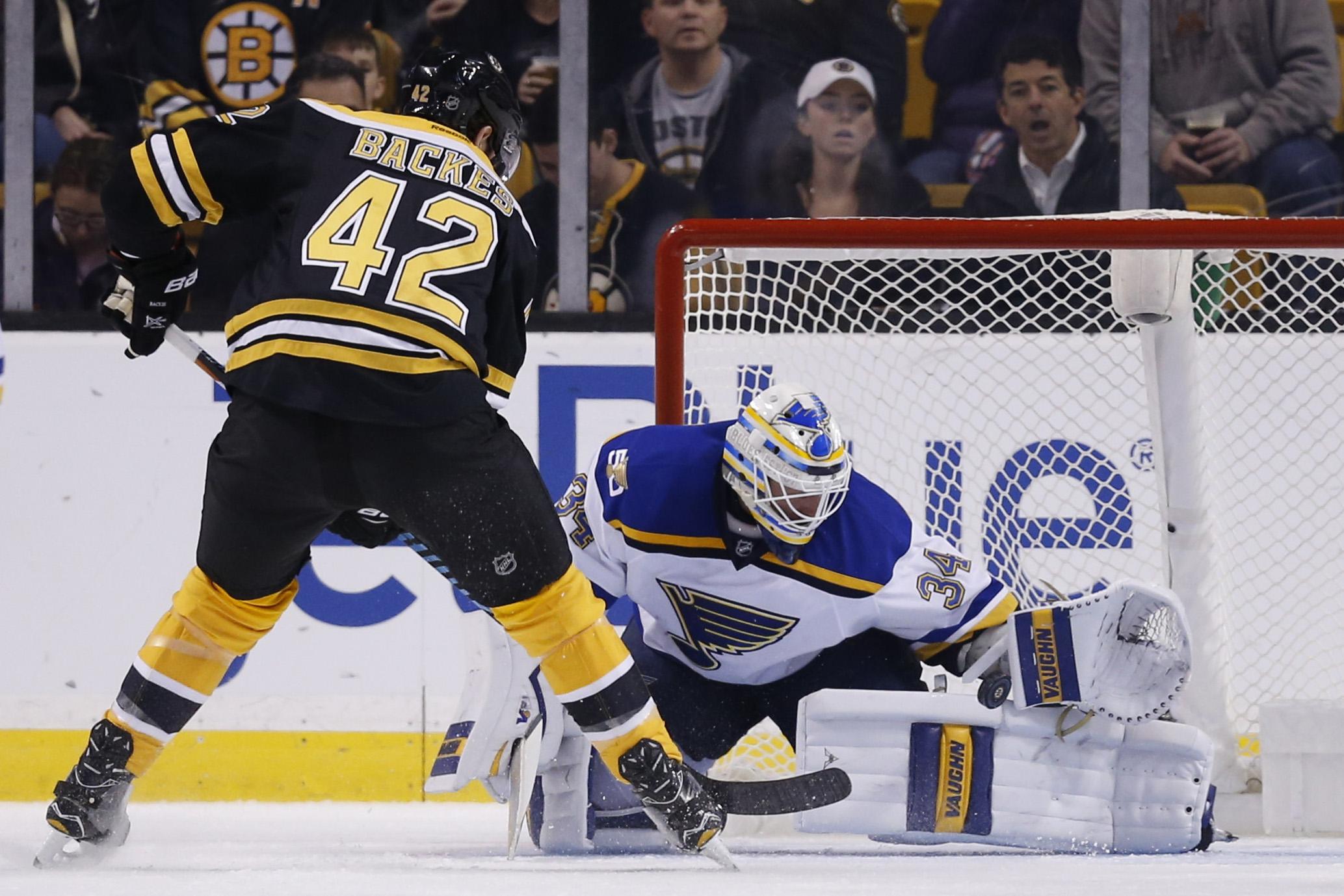 NHL: St. Louis Blues at Boston Bruins