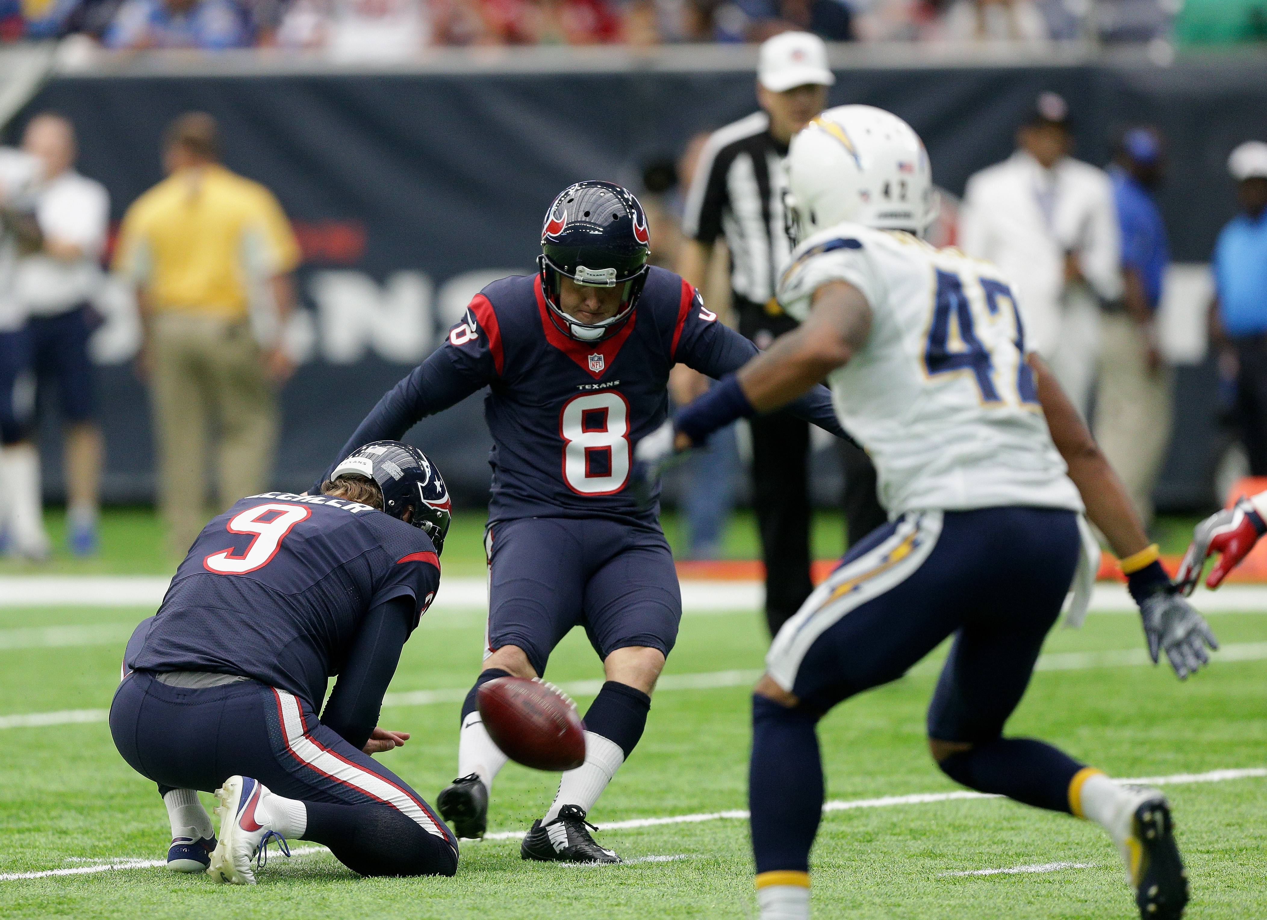 San Diego Chargers v Houston Texans