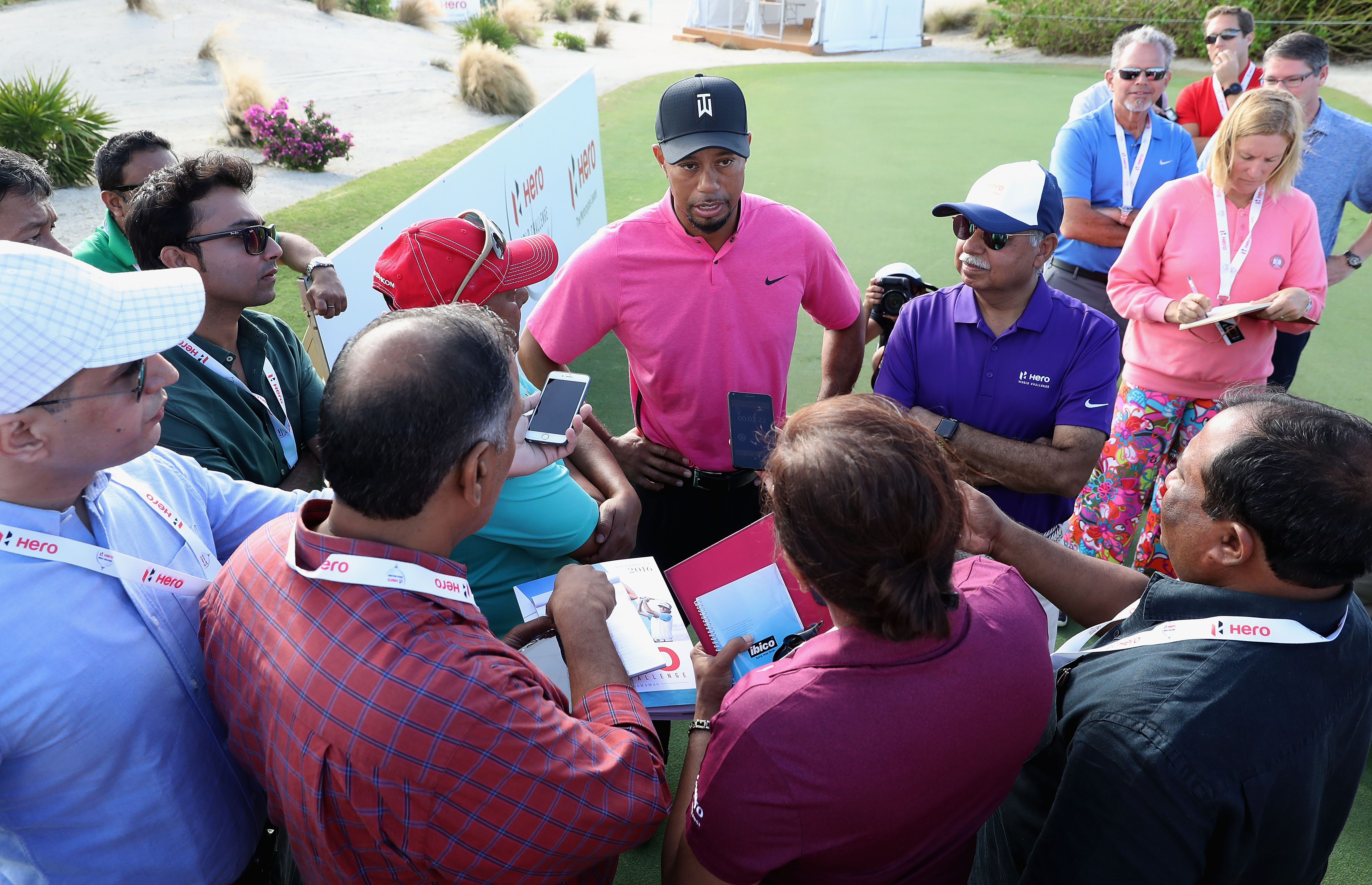 Tiger Woods returning with new equipment and every shot 'on call'
