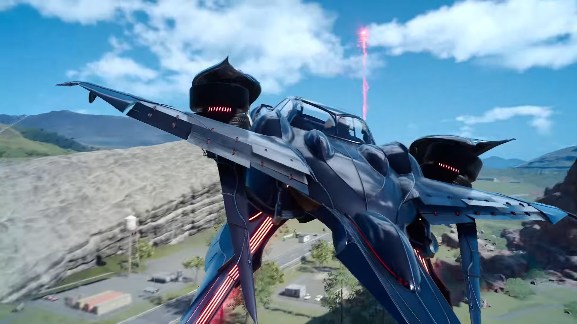 How do you unlock Final Fantasy 15's flying car, the Regalia Type-F?
