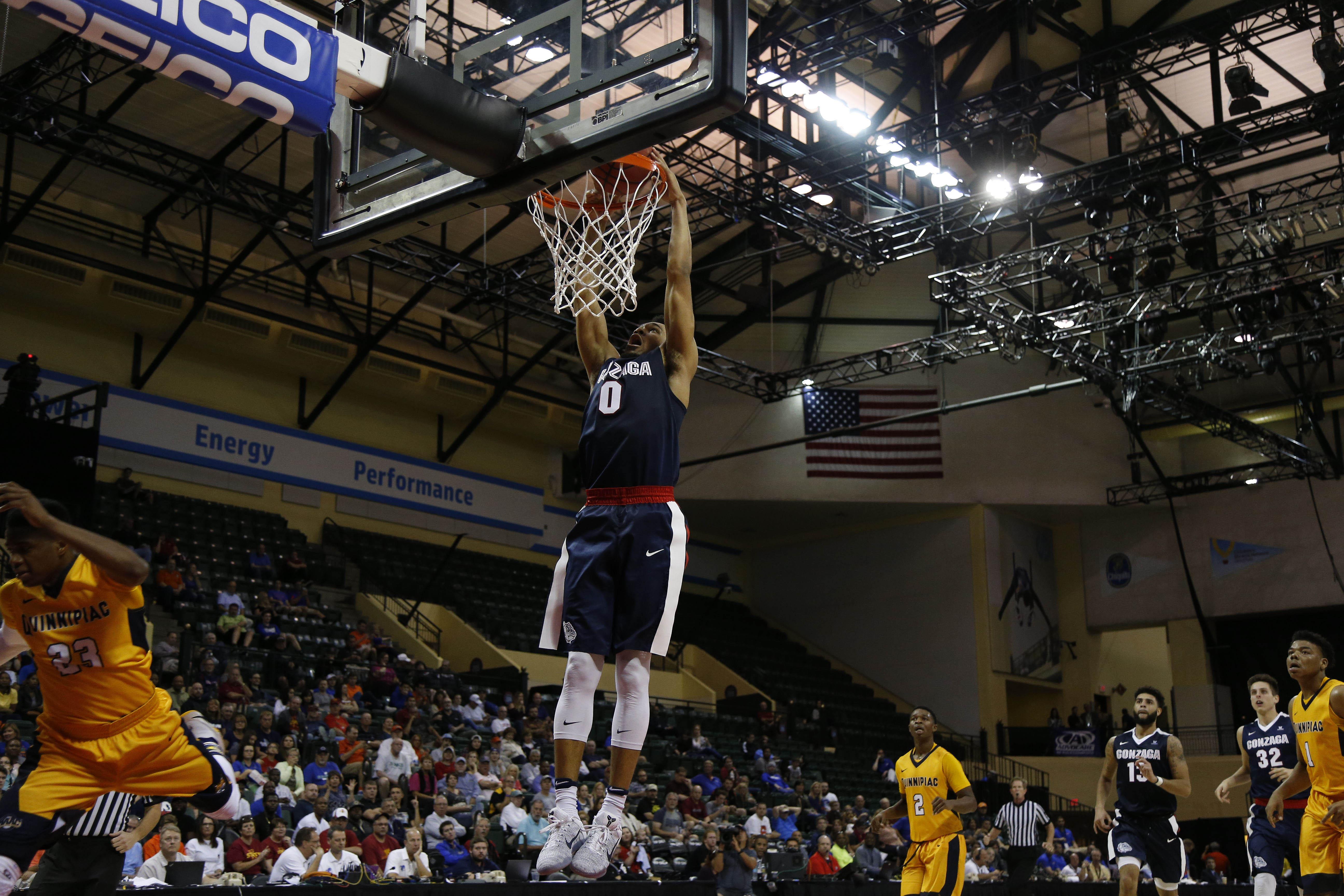 NCAA Basketball: AdvoCare Invitational-Gonzaga vs Quinnipiac