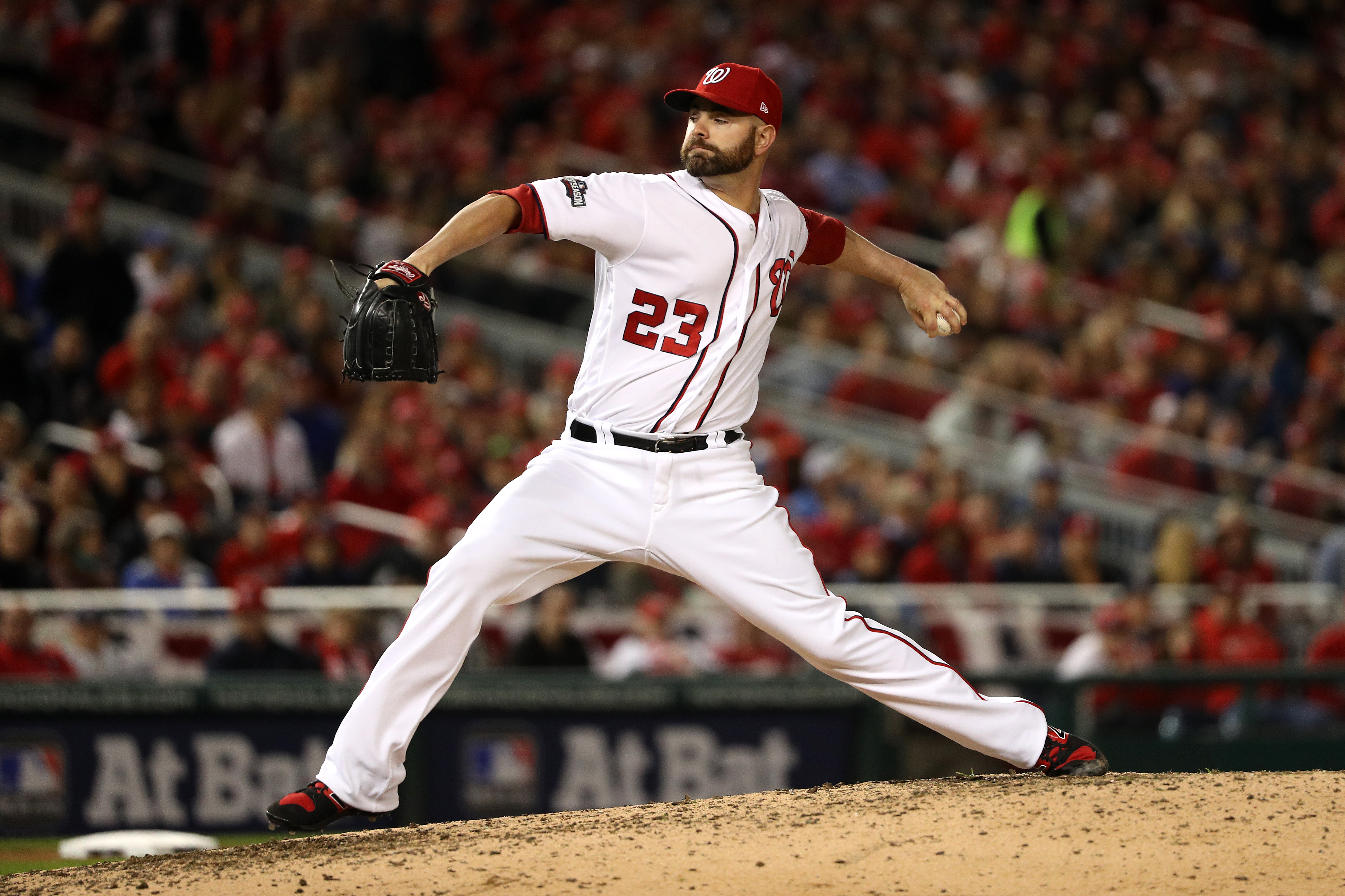 This is a human pitcher