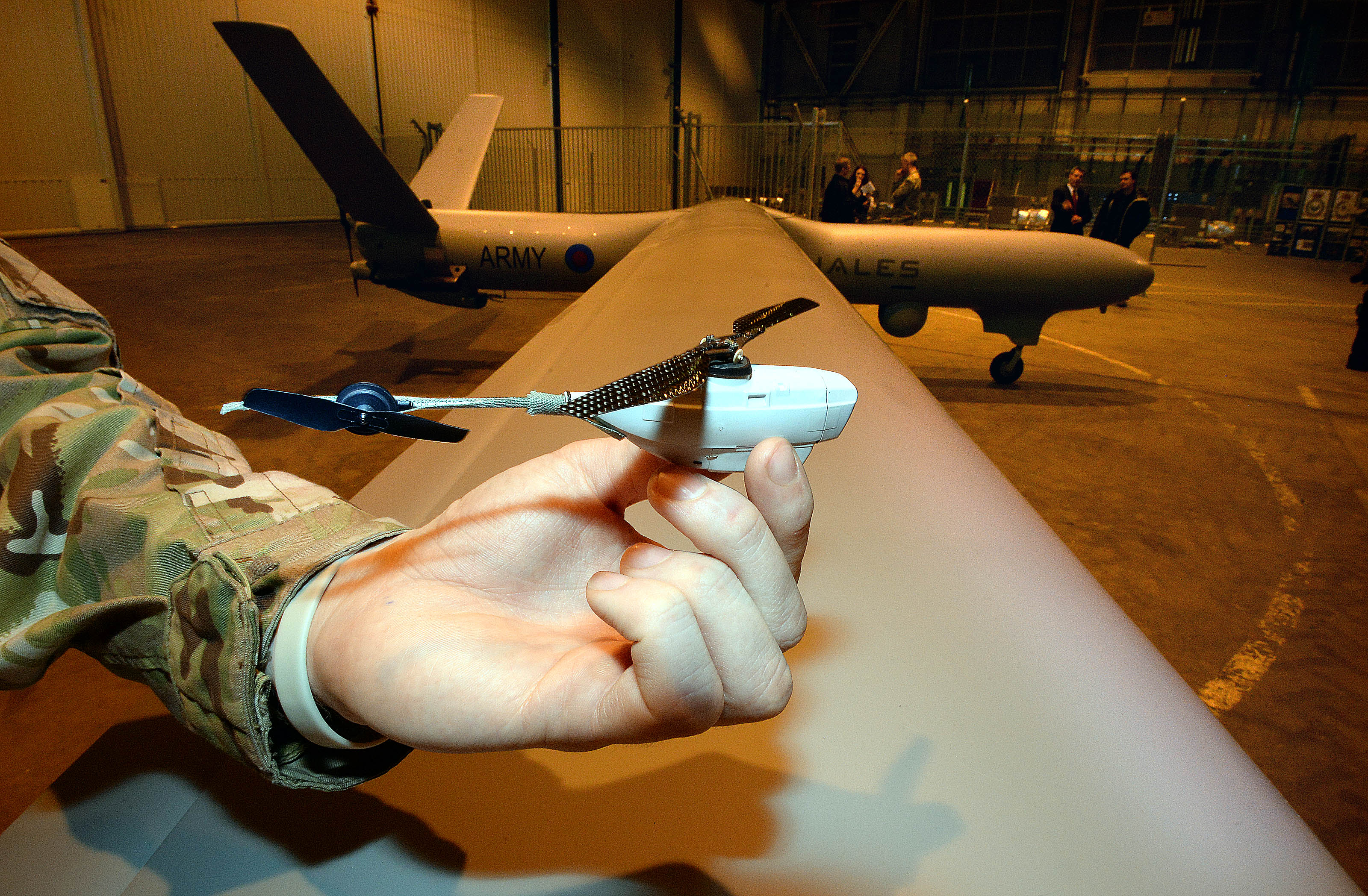 The company behind these pocket-sized military surveillance drones just got bought for $134 million