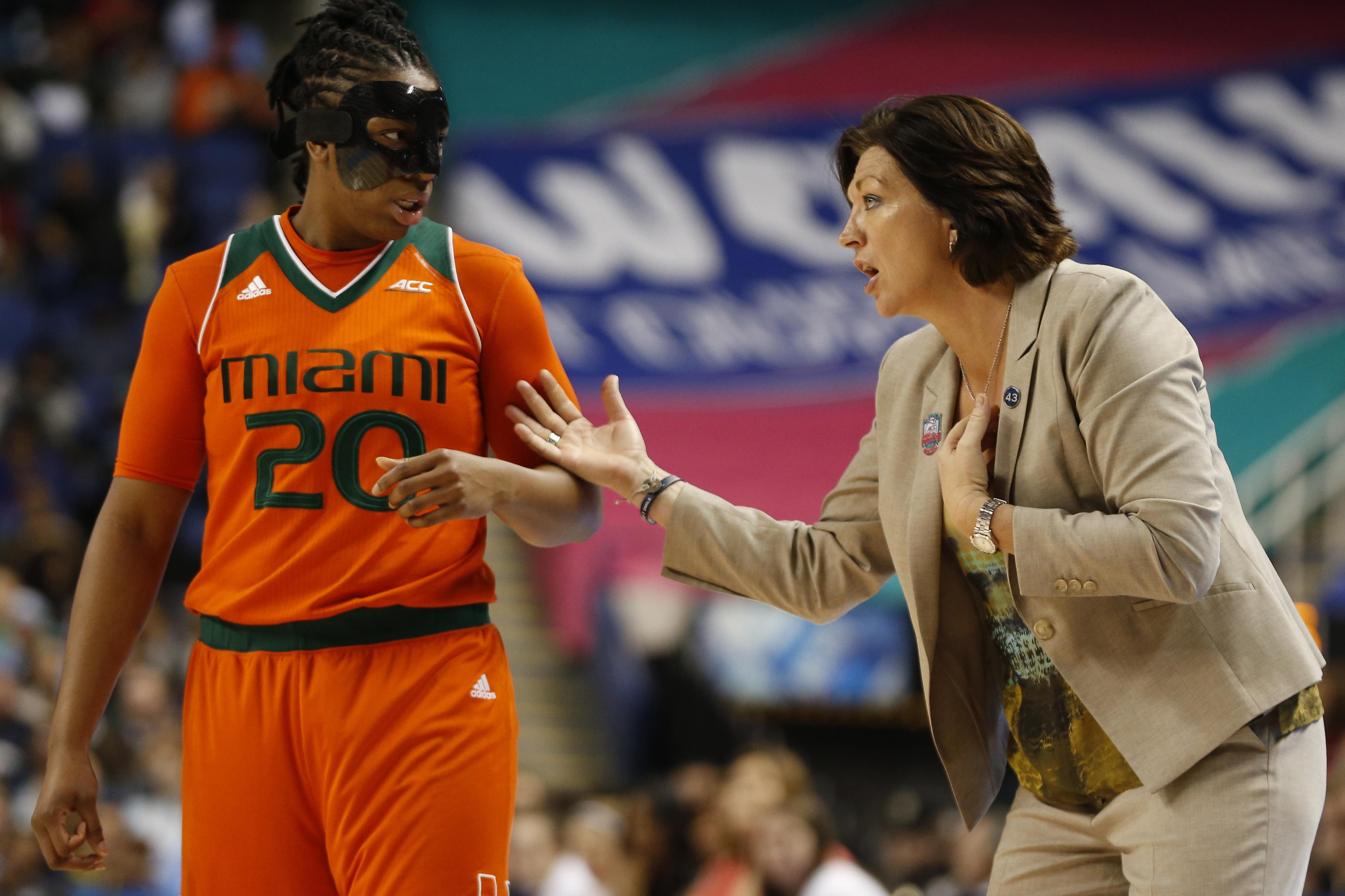 NCAA Womens Basketball: ACC Conference Tournament-Notre Dame vs Miami