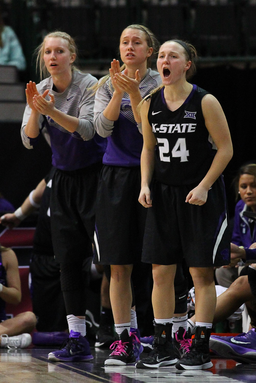 NCAA Womens Basketball: Big 12 Championship-Baylor vs Kansas State