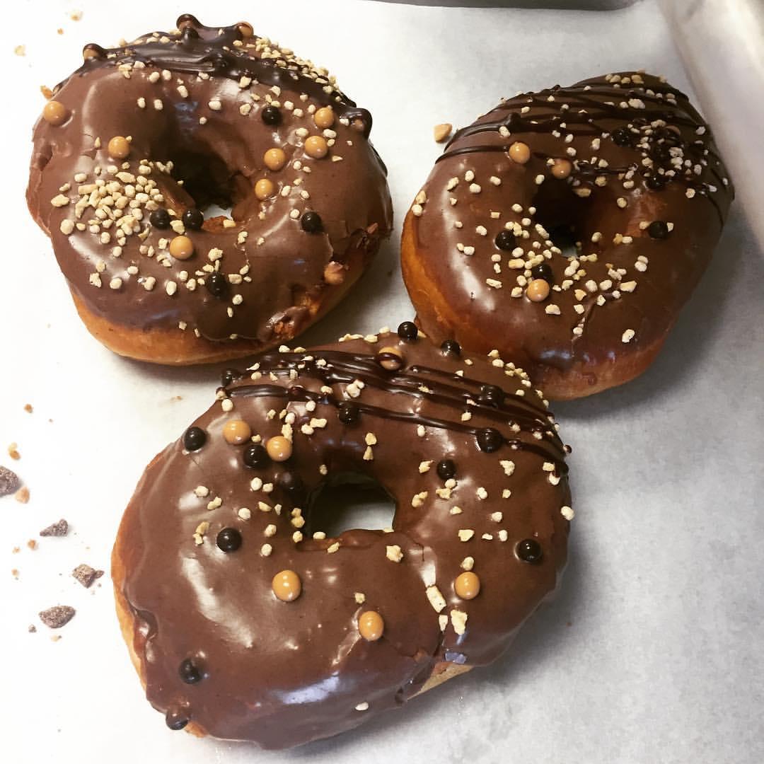 Bribery Bakery's Mexican hot chocolate doughnuts