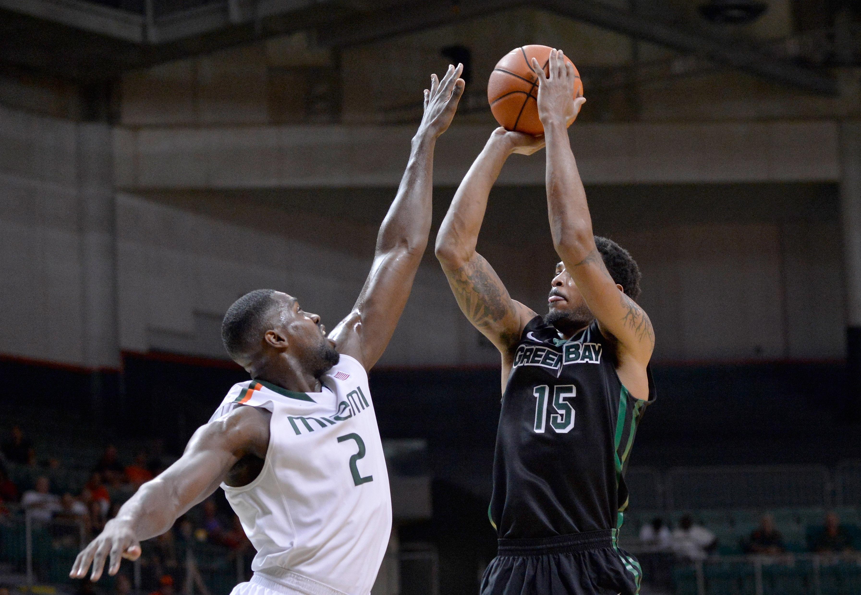 NCAA Basketball: Green Bay at Miami