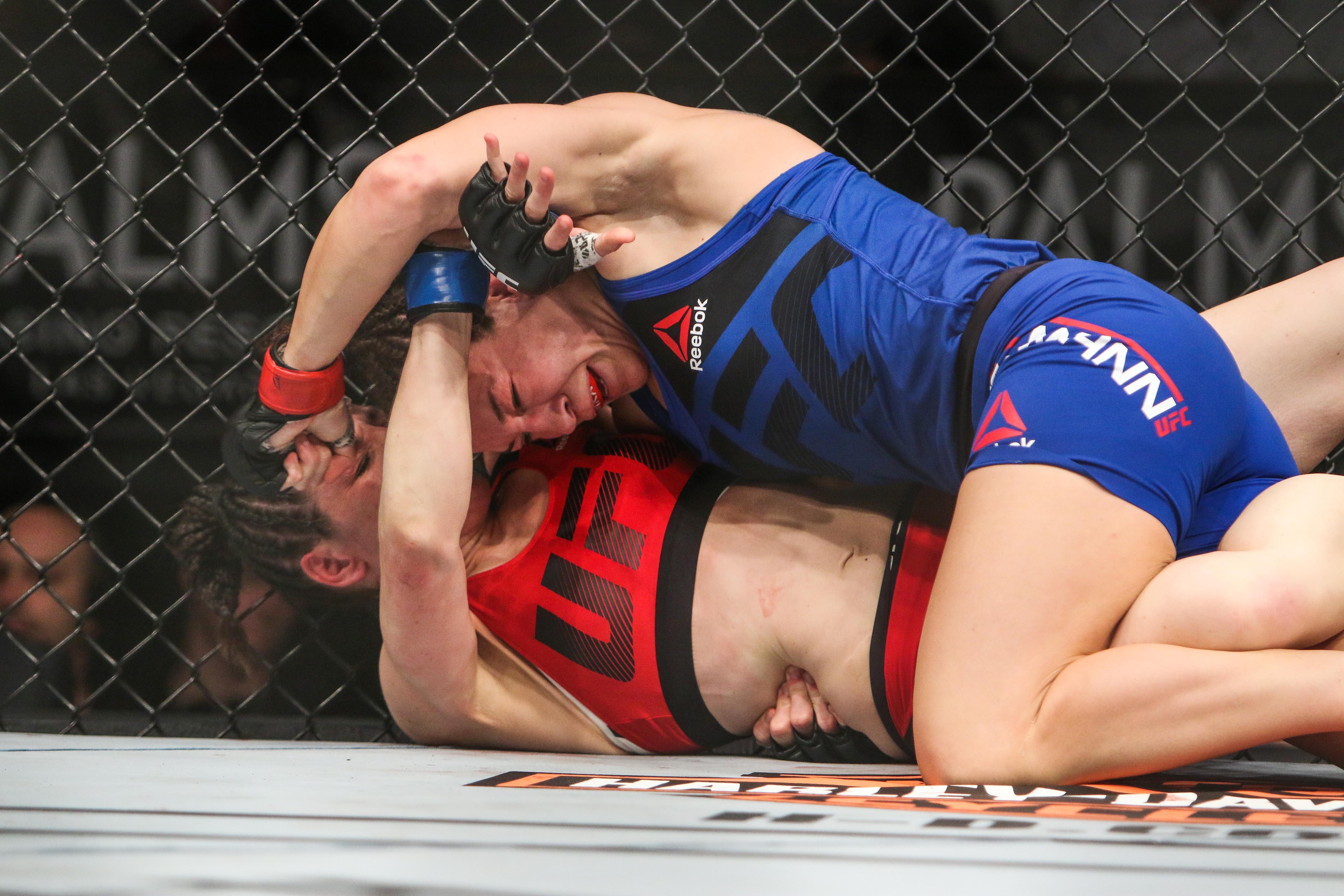 MMA: TUF Tournament of Champions-McMann vs Davis