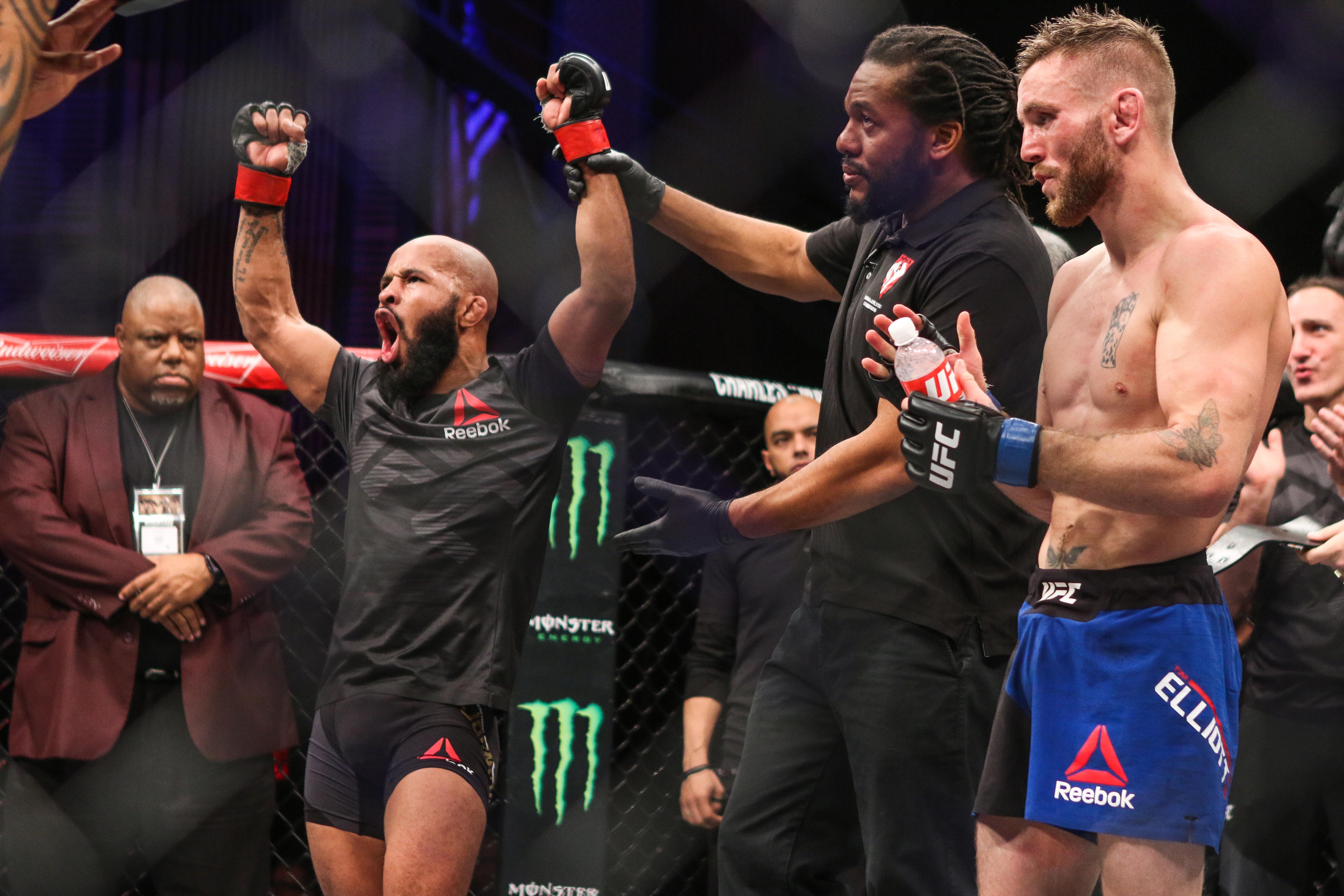 MMA: TUF Tournament of Champions-Johnson vs Elliott