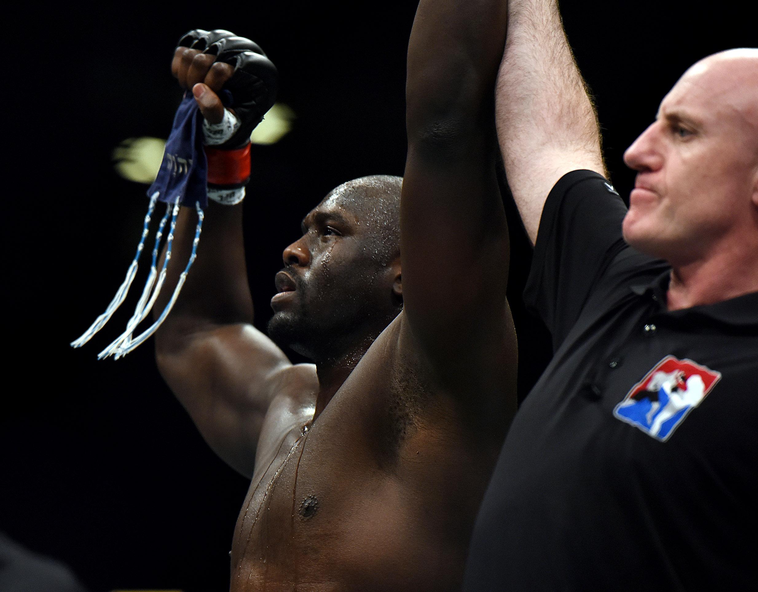 MMA: UFC Fight Night-Cannonier vs Asker